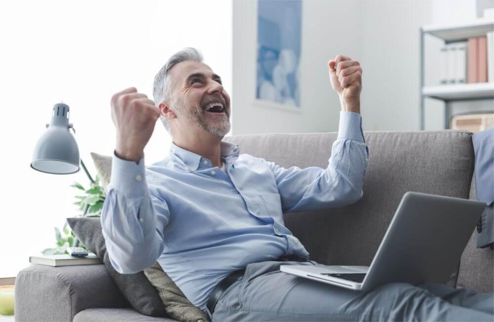 Hier würden Sie einen Vermieter sehen, der sich über einen unkomplizierten Buchungsprozess freut.