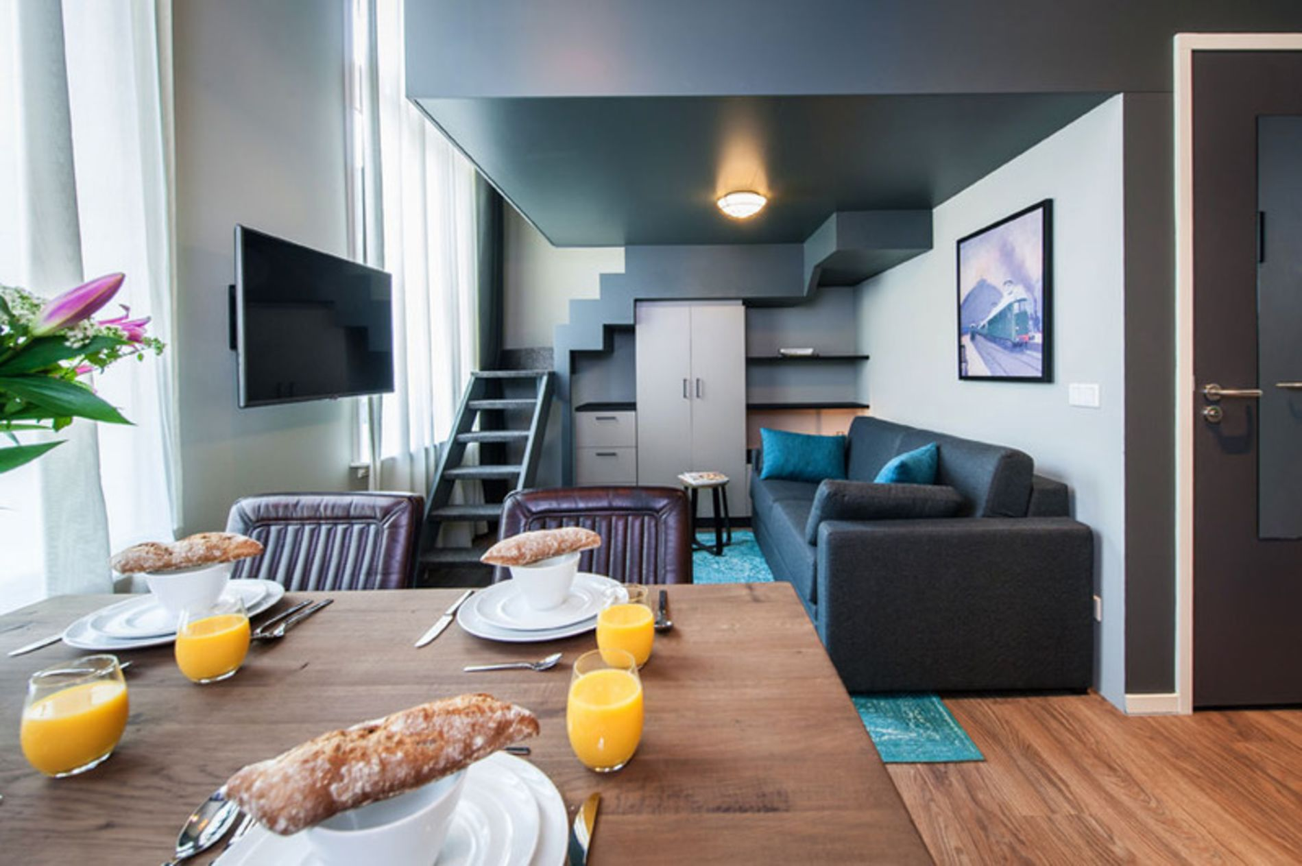 Studio serviced apartment in Amsterdam's Eastern Islands