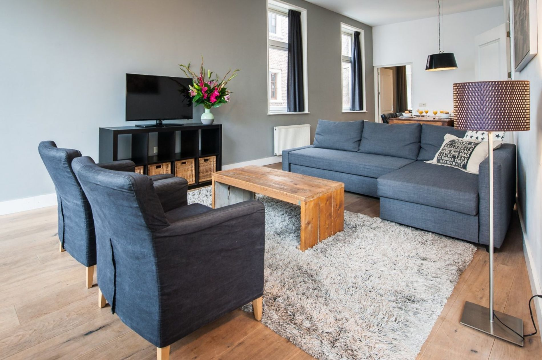 Family-friendly serviced apartment in Amsterdam