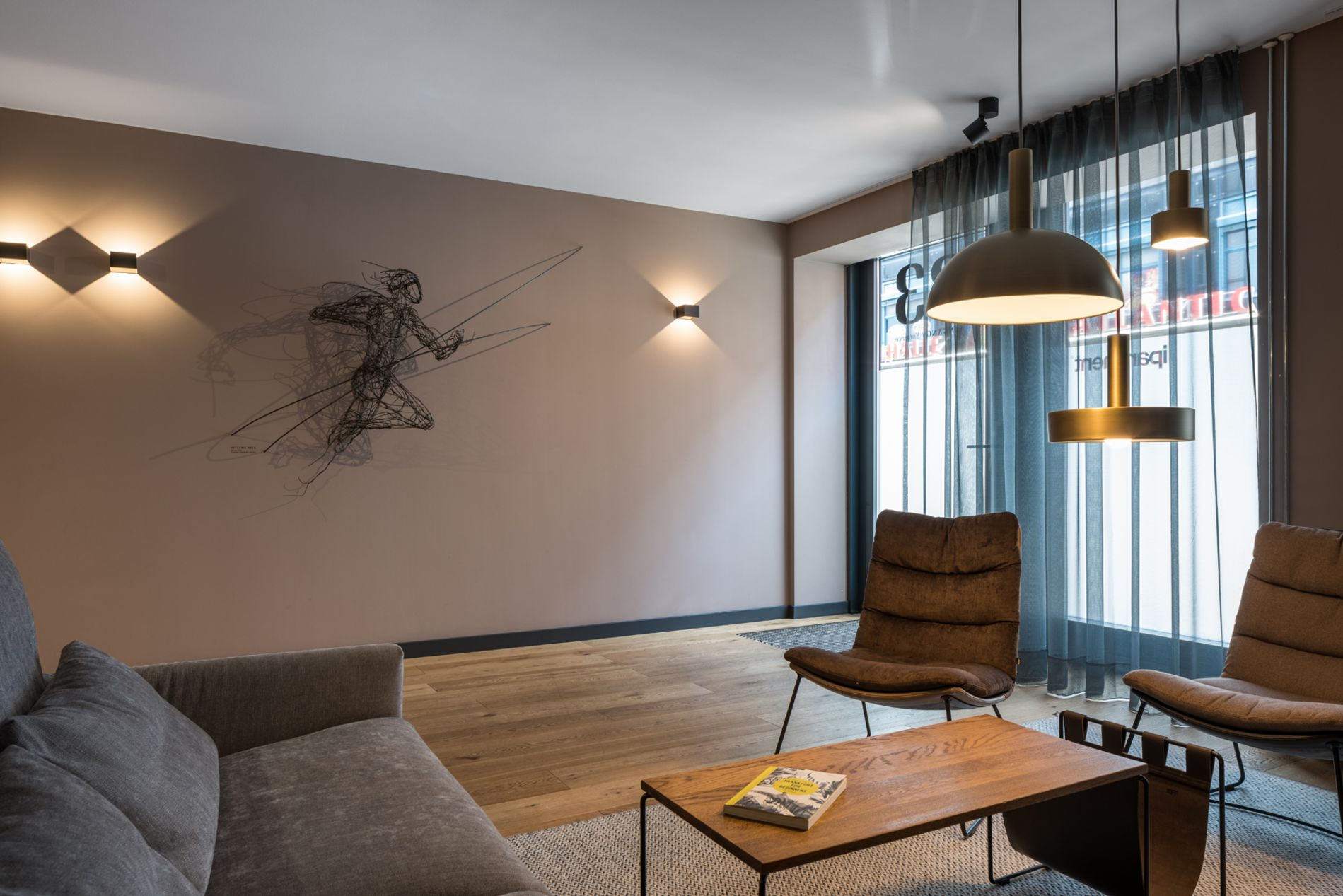 Fully furnished, instant bookable serviced apartment in Frankfurt Green Belt