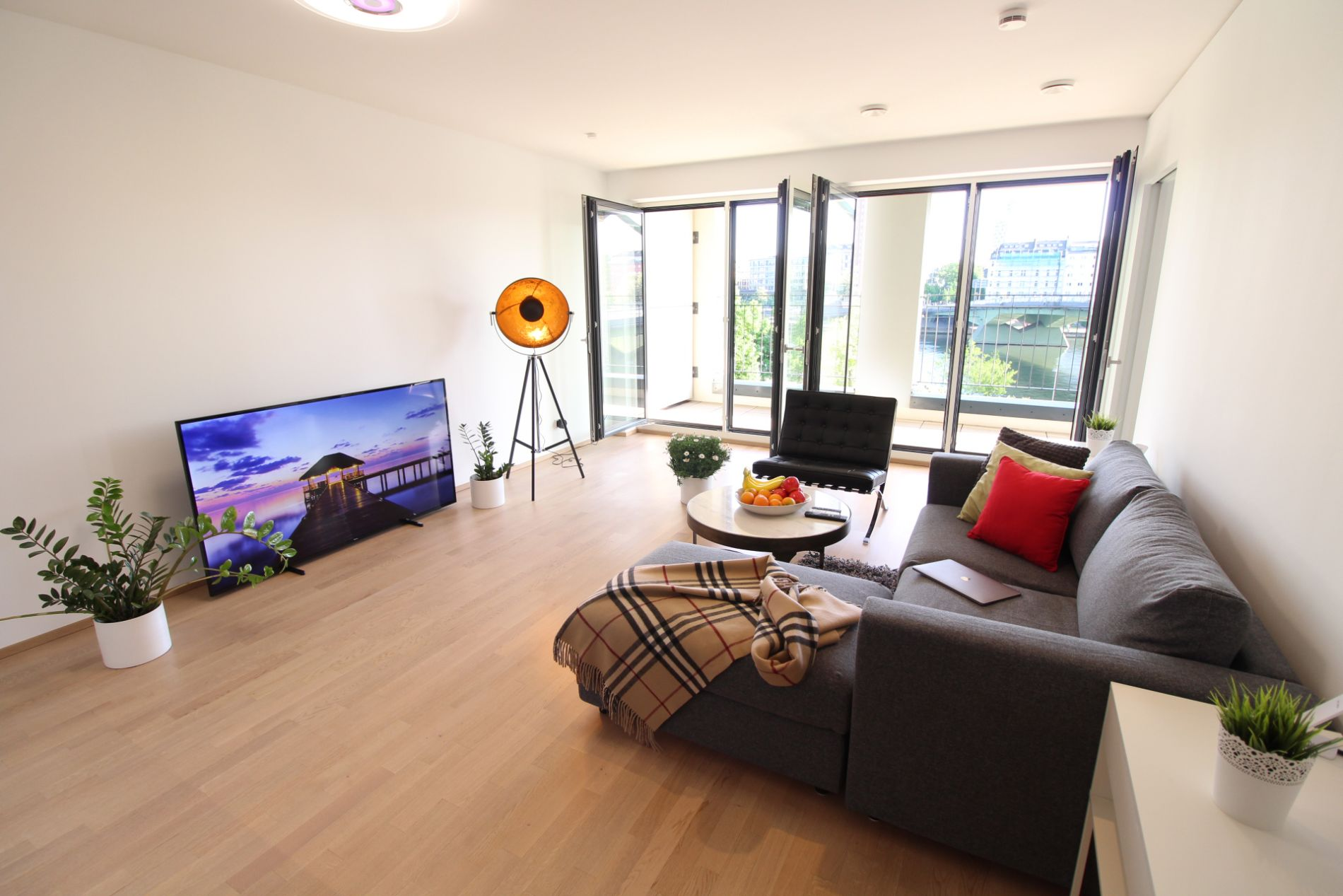 Bright and spacious luxury serviced accmmodation in Frankfurt
