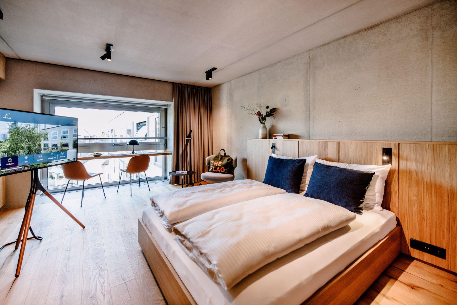 Serviced studio apartment in Frankfurt that allows pets
