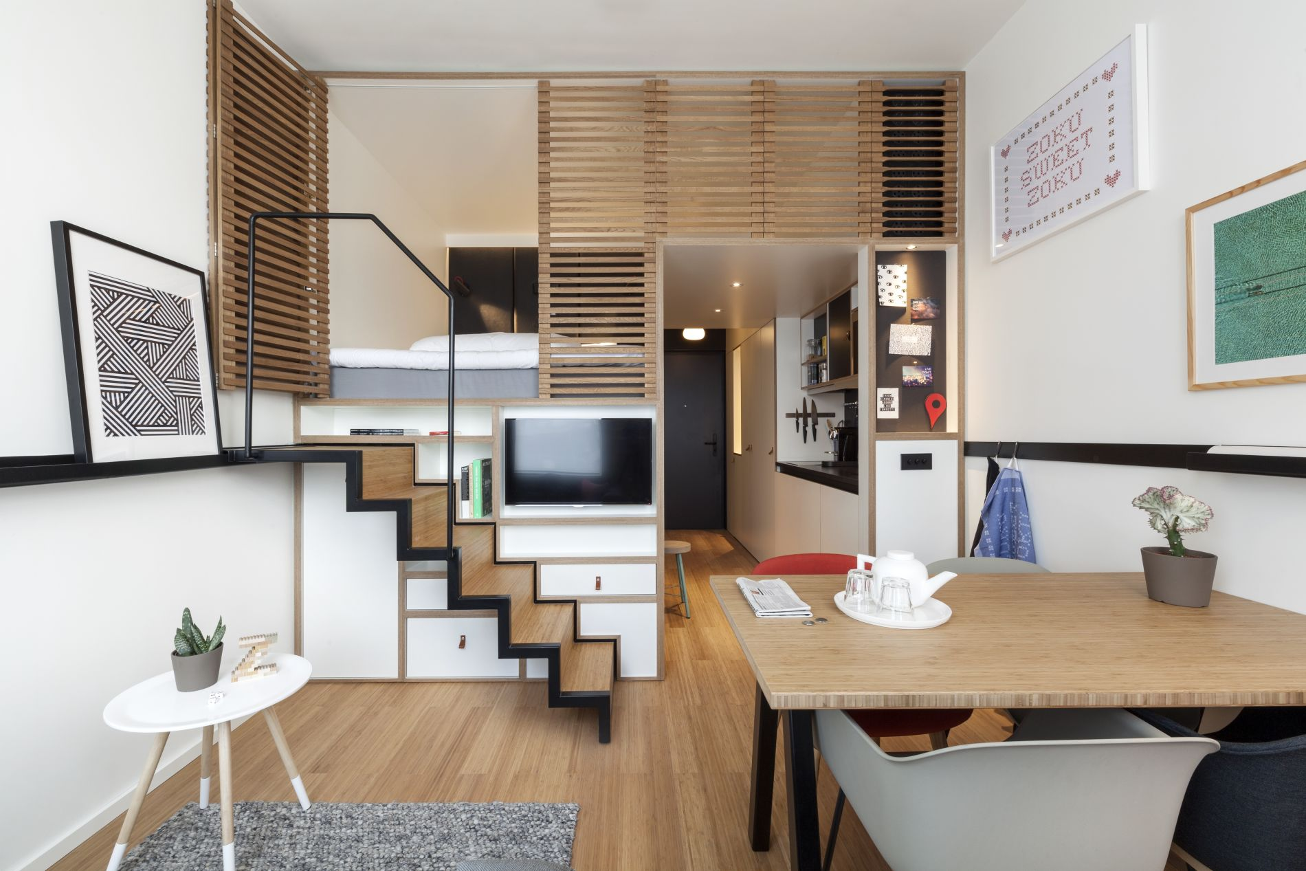 Instant Bookable Serviced Apartment in Amsterdam Zoku