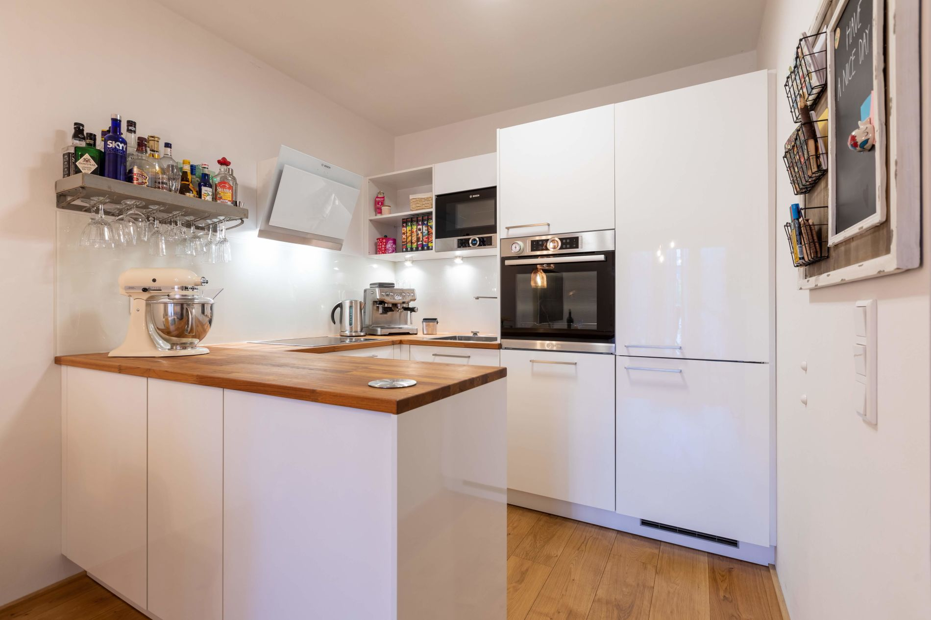 Serviced accommodation with a balcony in Frankfurt
