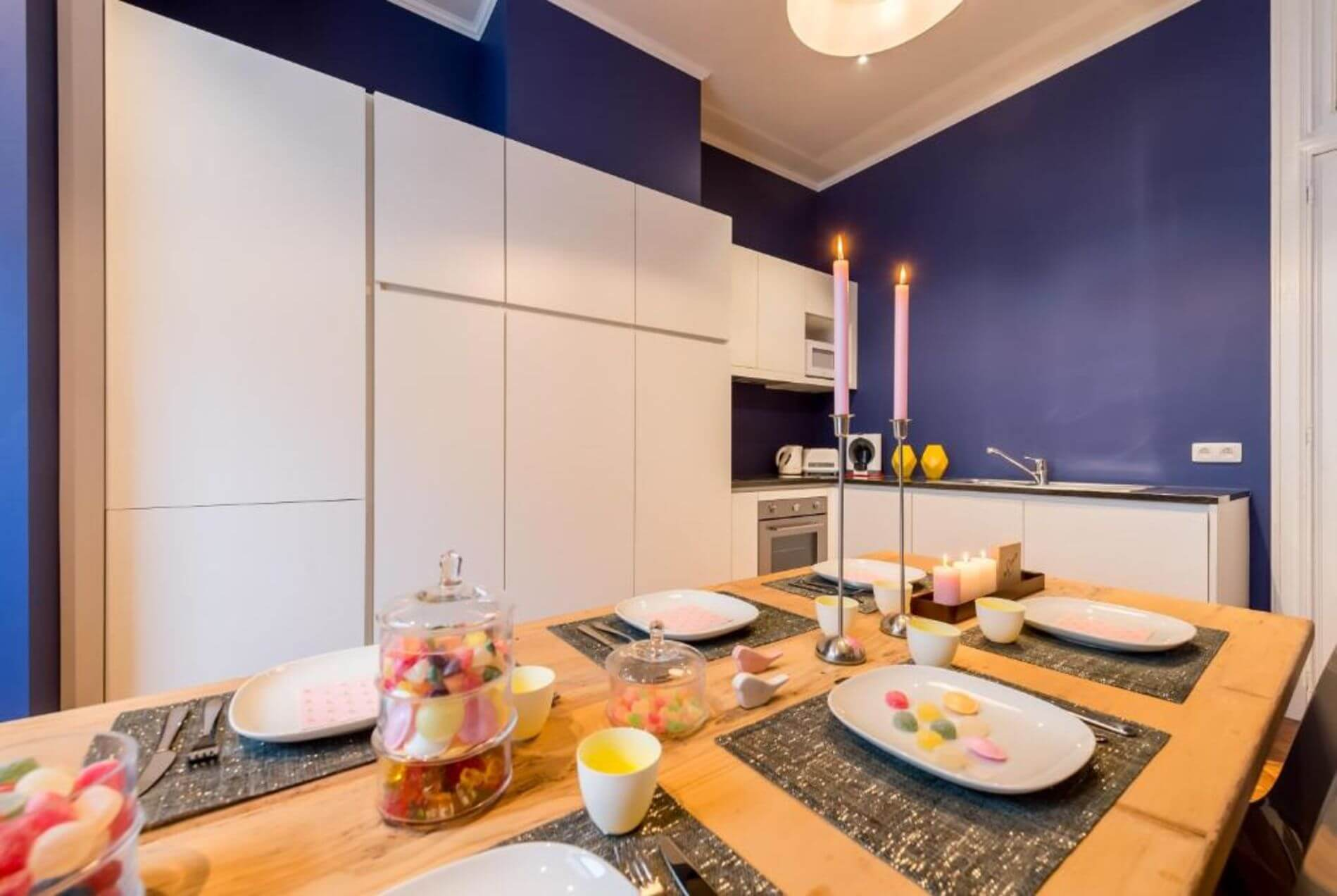 Apartment rental in Antwerp with a terrace