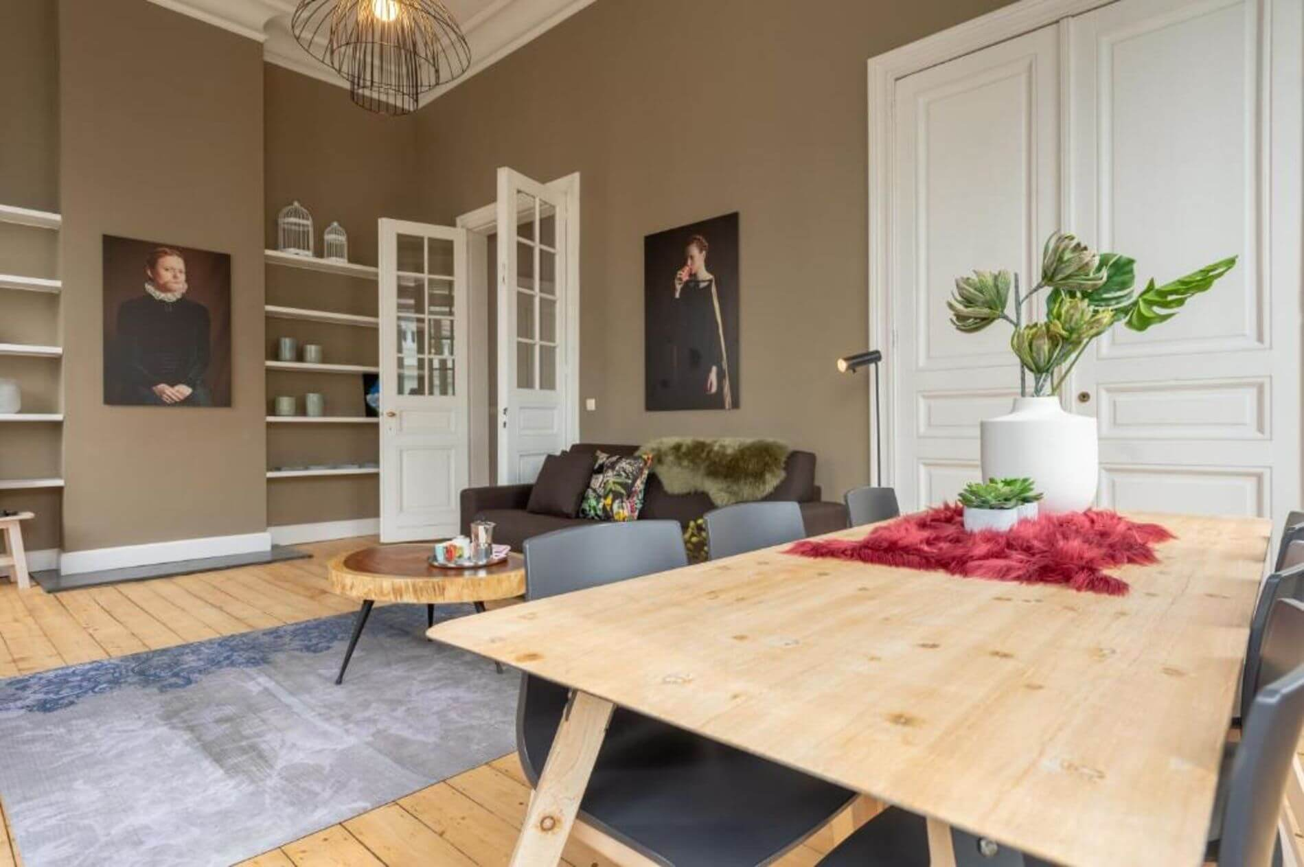 Gorgeous duplex apartment for rent in Antwerp for up to 6 guests