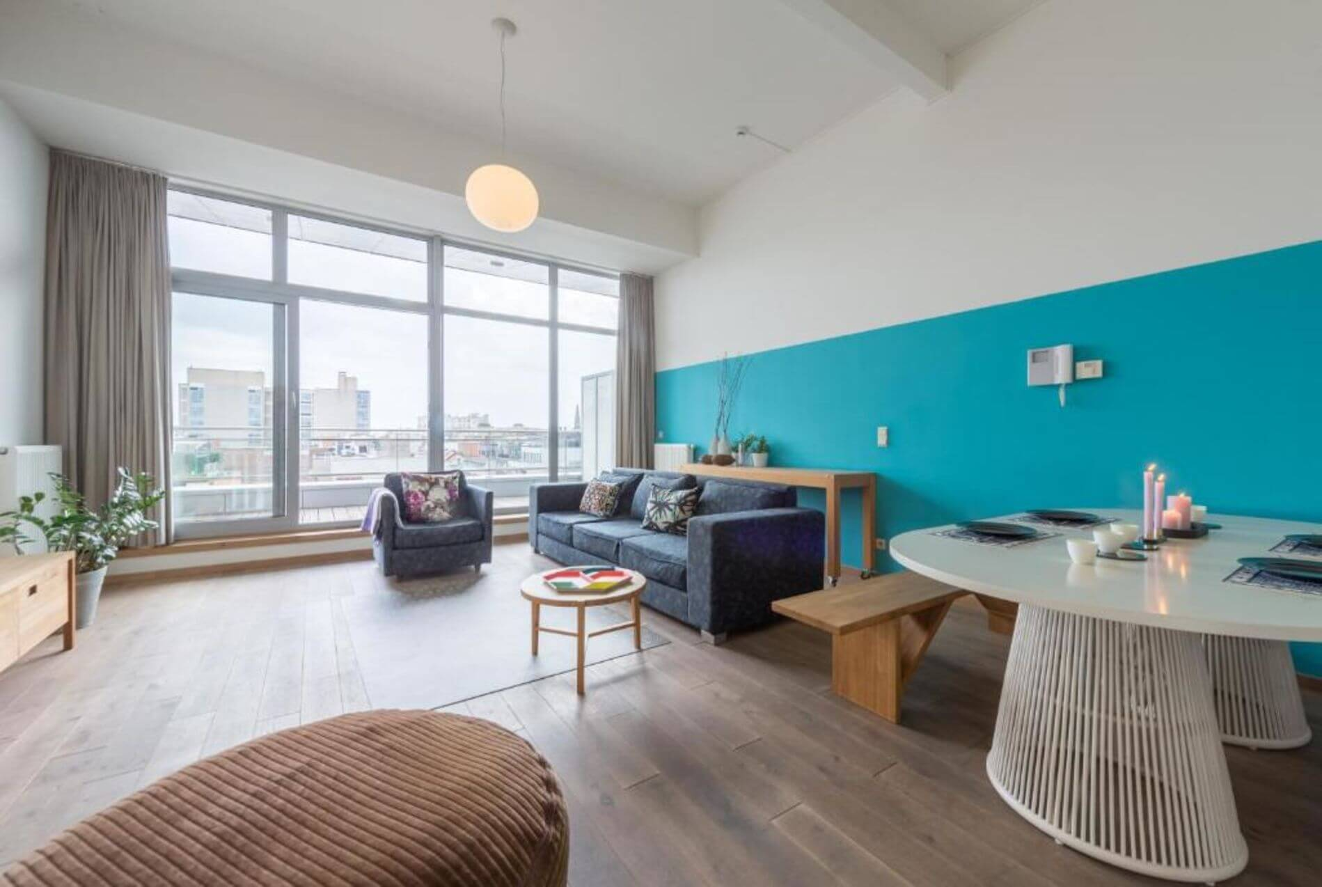 Duplex rental apartment for 4 in Antwerp