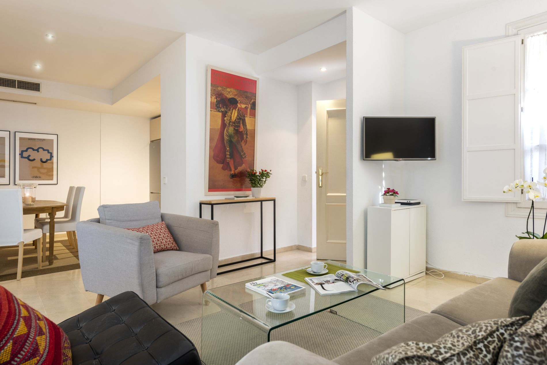 Centrally located 1 Bedroom Apartment in Sevilla for short term stays