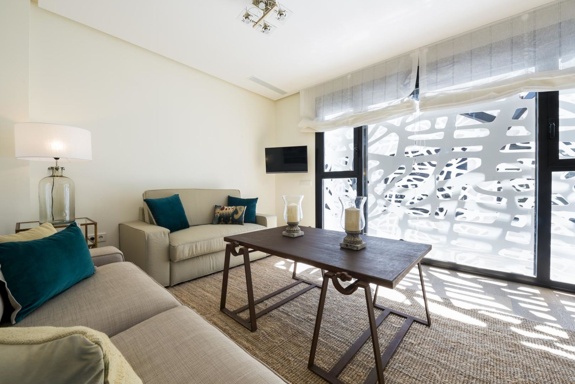Modern Apartment in Seville with 2 bedrooms and a private terrace