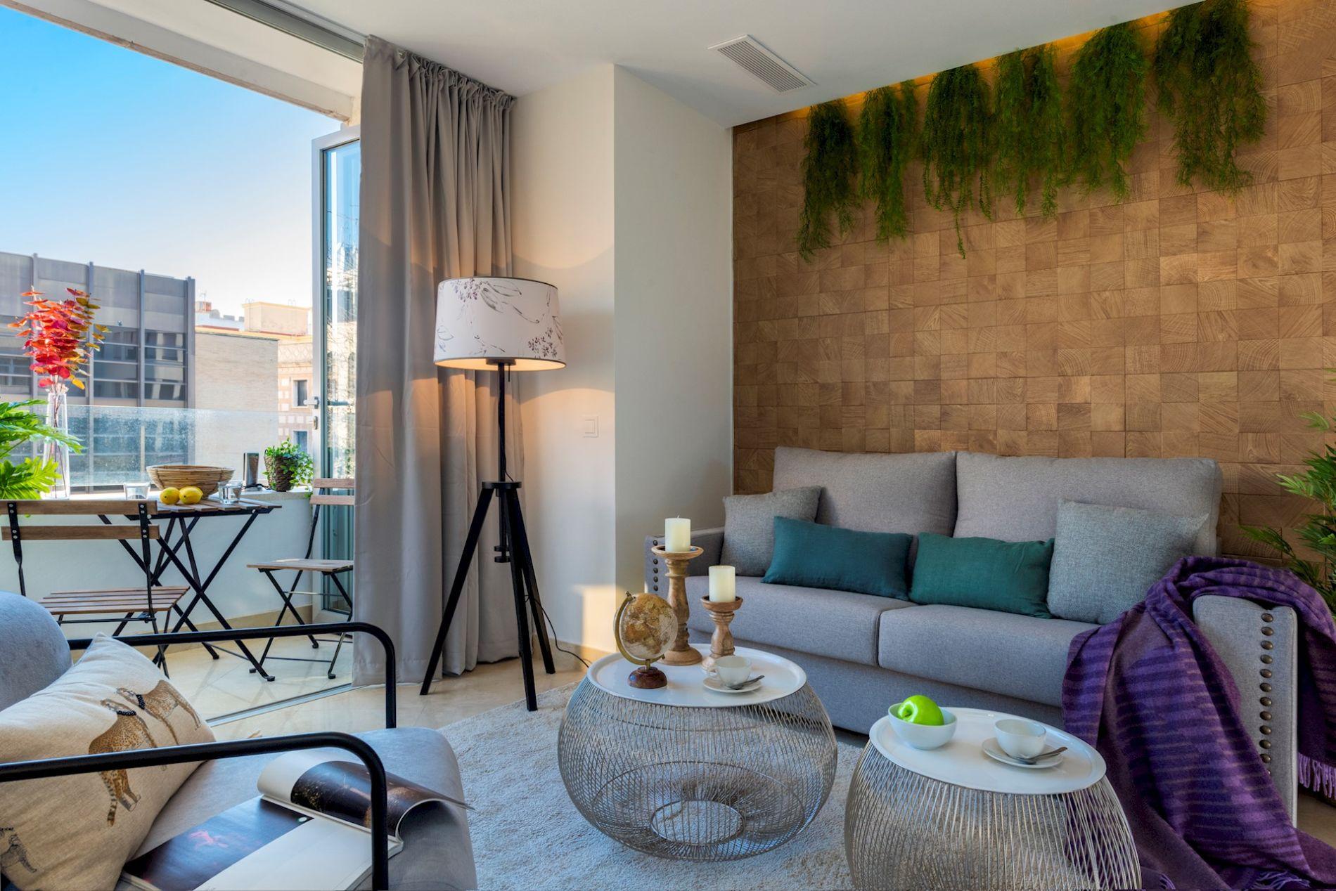 Apartment in Sevilla with a private balcony
