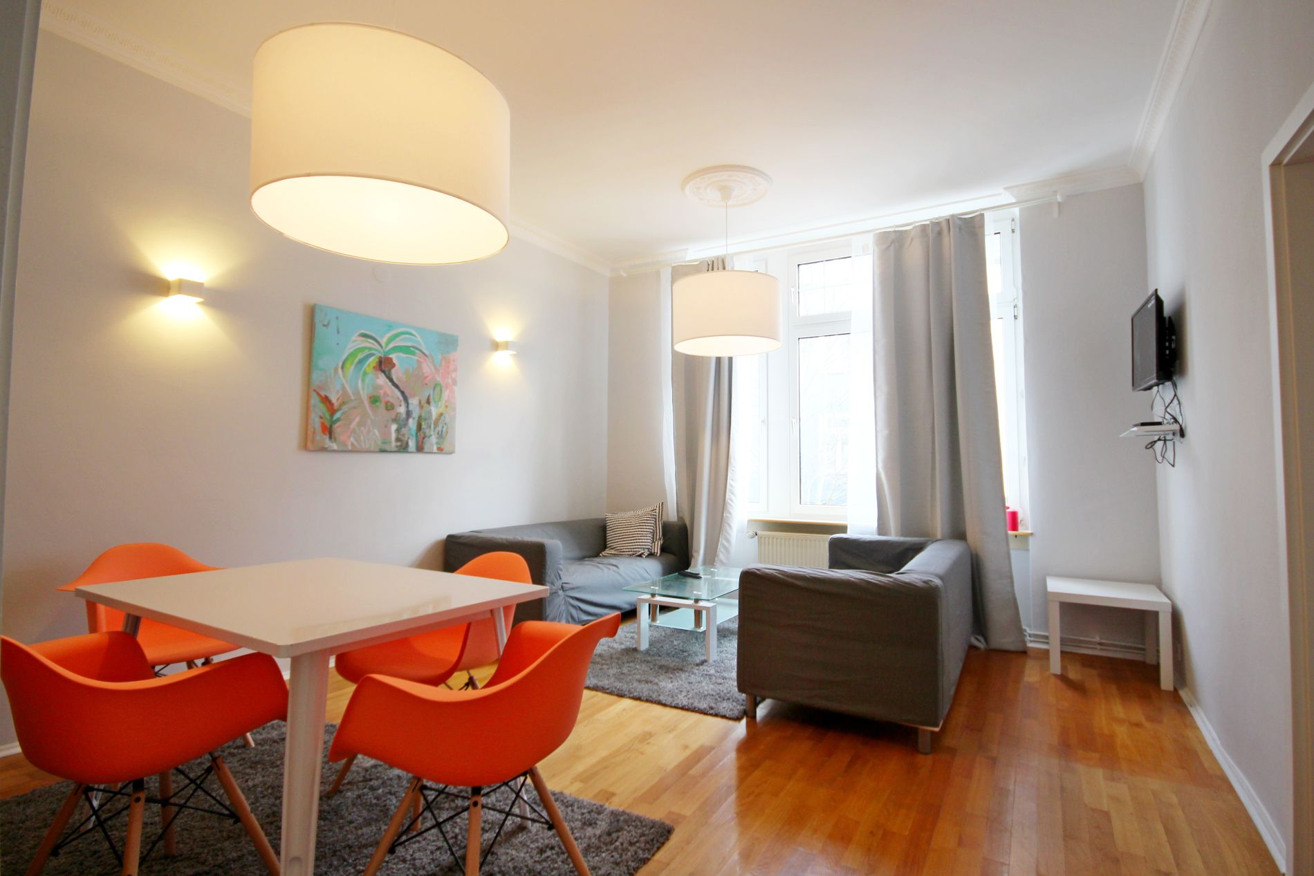 Renovated Serviced Apartment in Gallusviertel, Frankfurt suitable for families with children