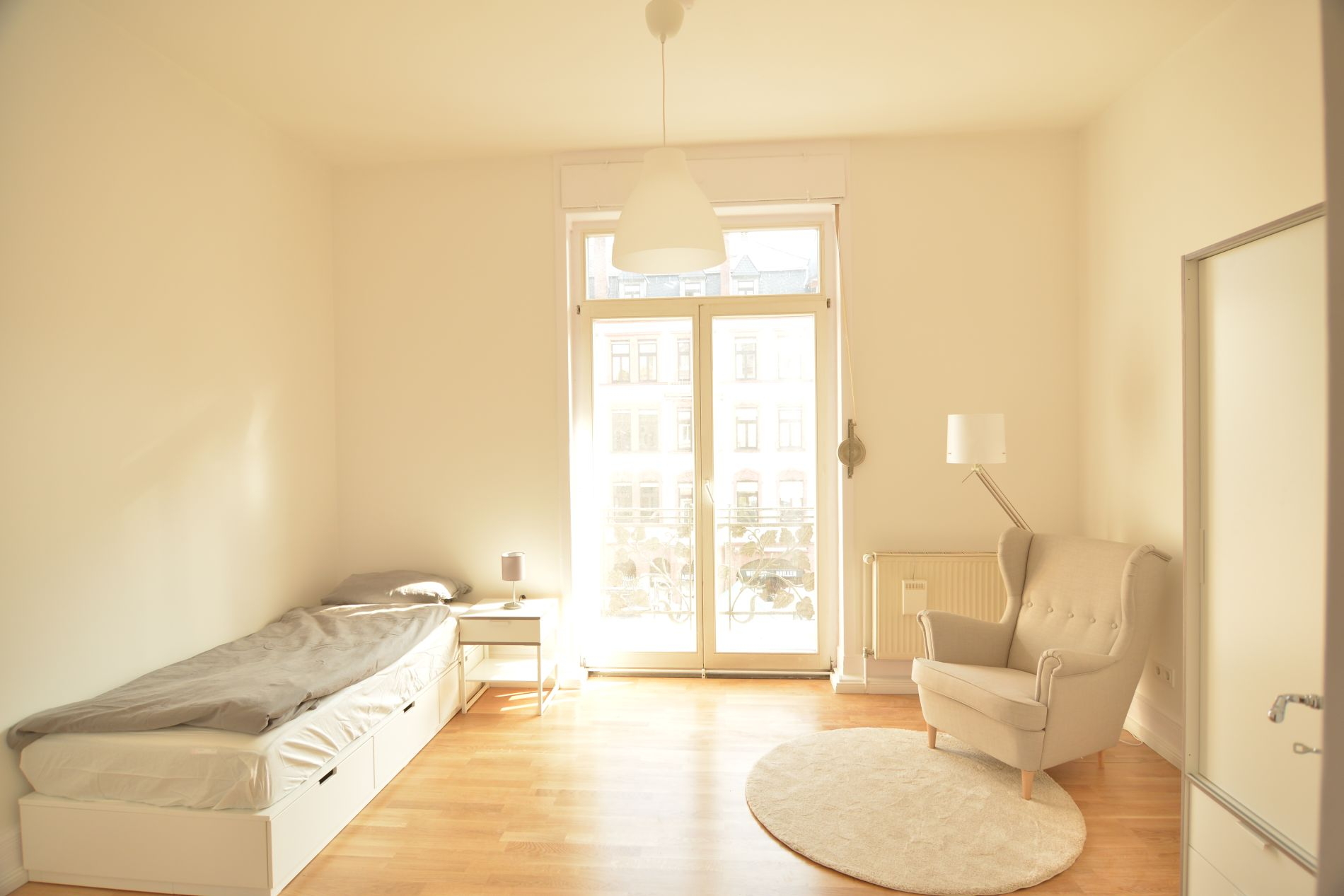 Serviced apartment in Bockenheim, Frankfurt suitable for families with children