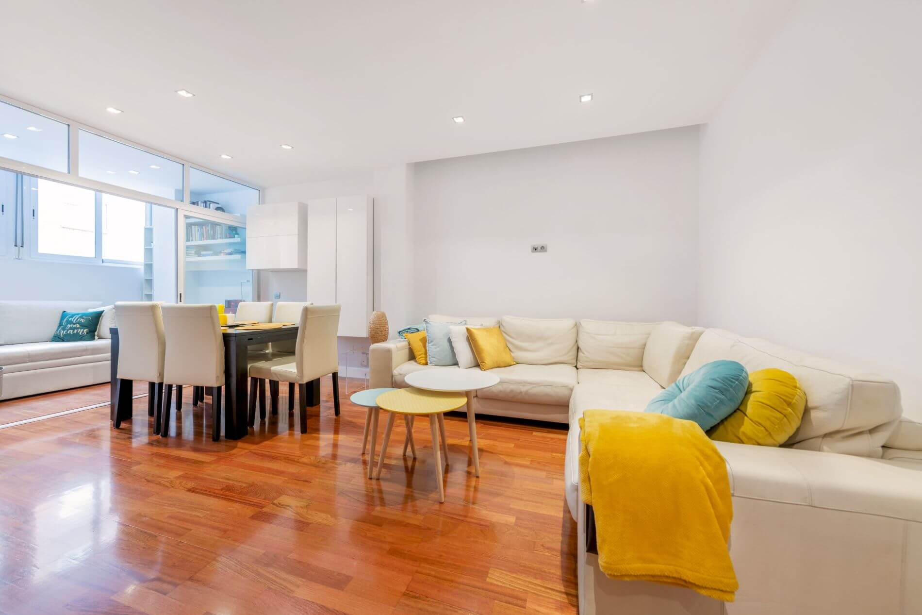 Family-friendly 3 bed serviced apartment in Retiro