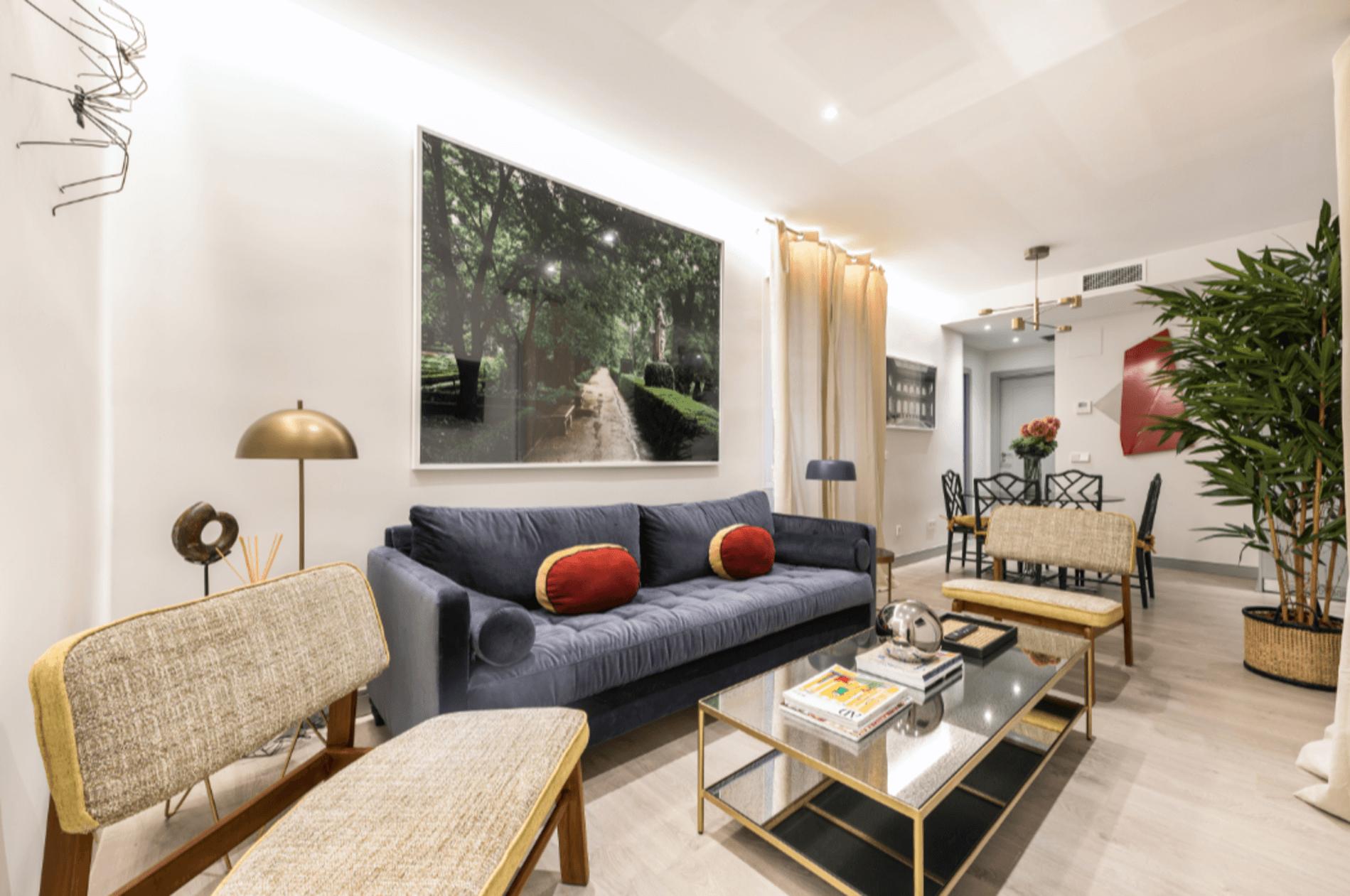 Serviced 2 bedroom apartment in Salamanca, Madrid