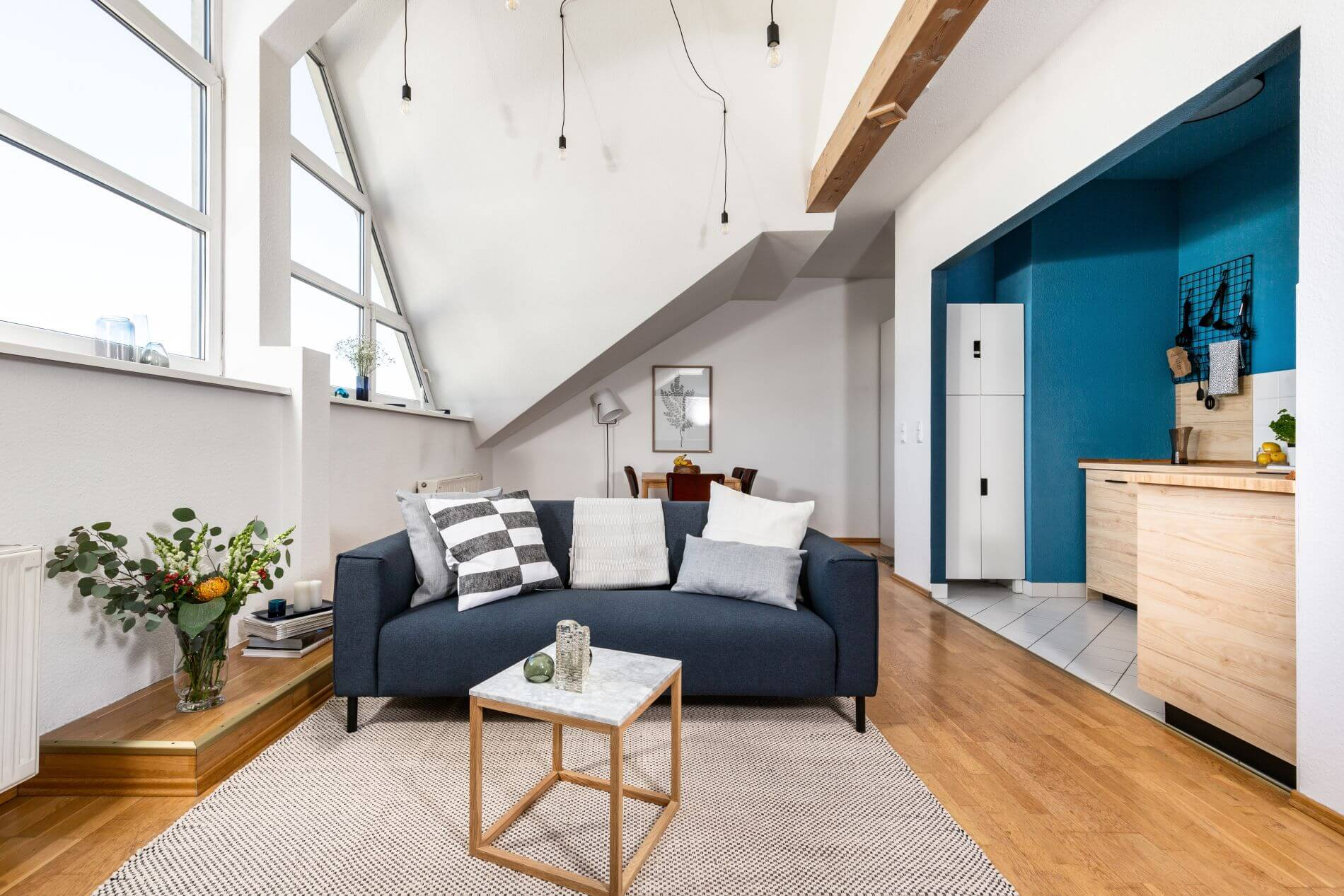 Serviced penthouse accommodation with instant book option