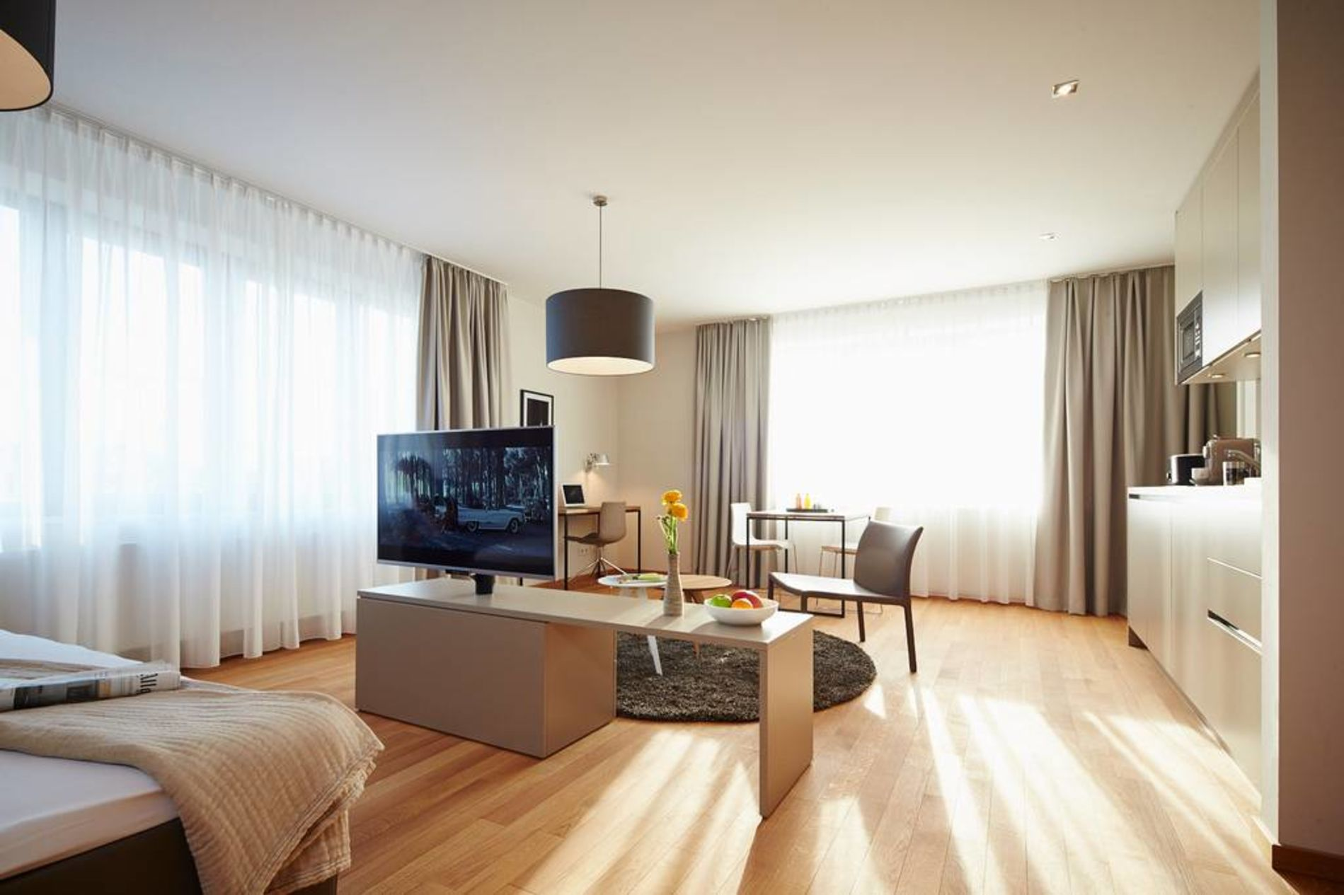 Serviced apartment in Frankfurt for long term stay of 6 months and above