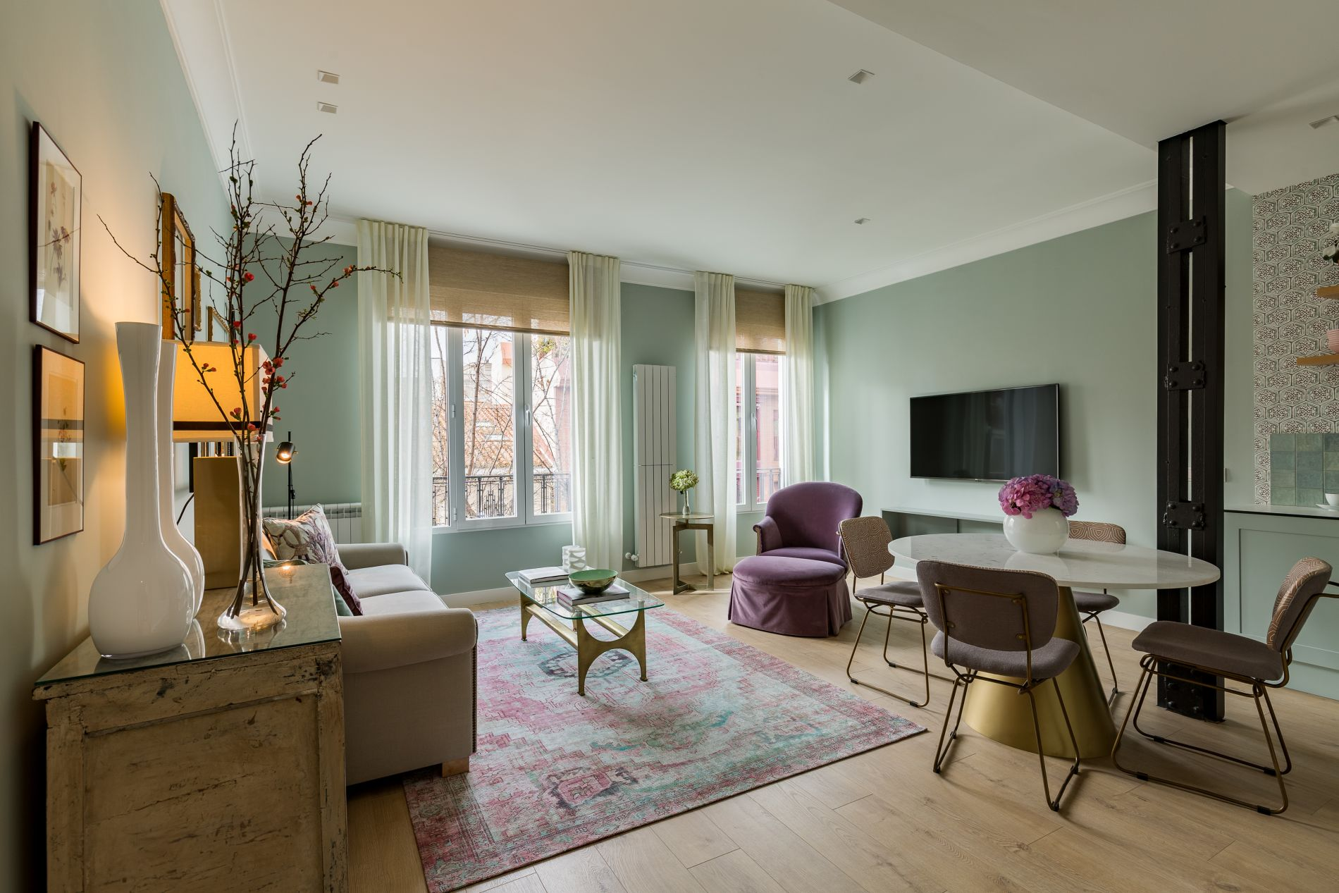 Luxury serviced apartment in Chamberi, Madrid