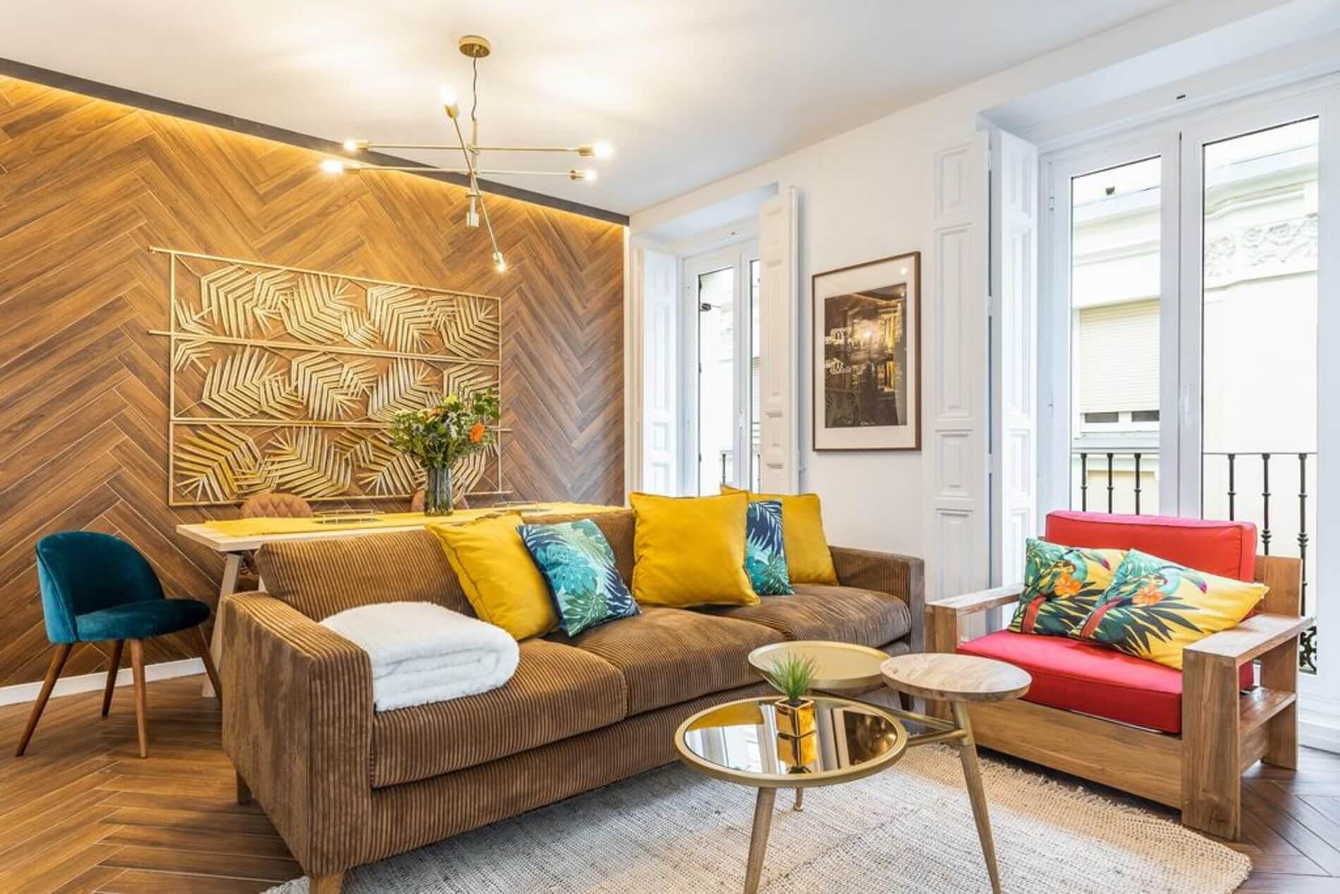 Luxury serviced apartment in Malasana, Madrid
