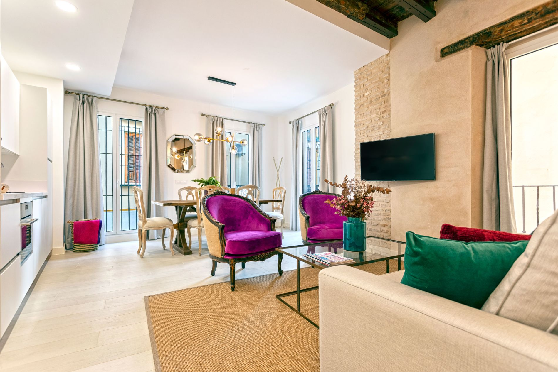 Luxury accommodation for monthly rental in Seville