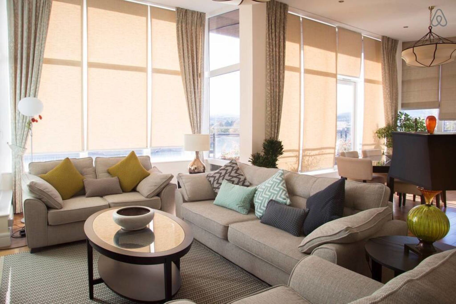 Beautifully furnished luxury apartment in Dublin