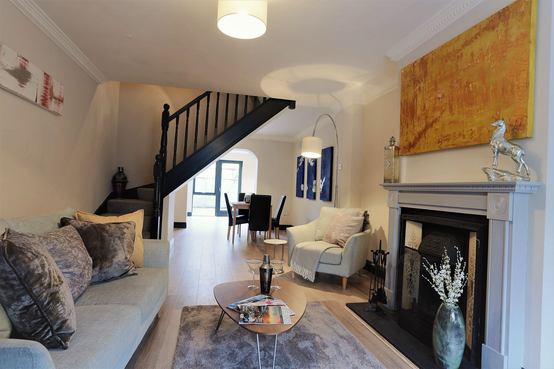 Stylish Luxury Serviced Accommodation for 4 in Dublin