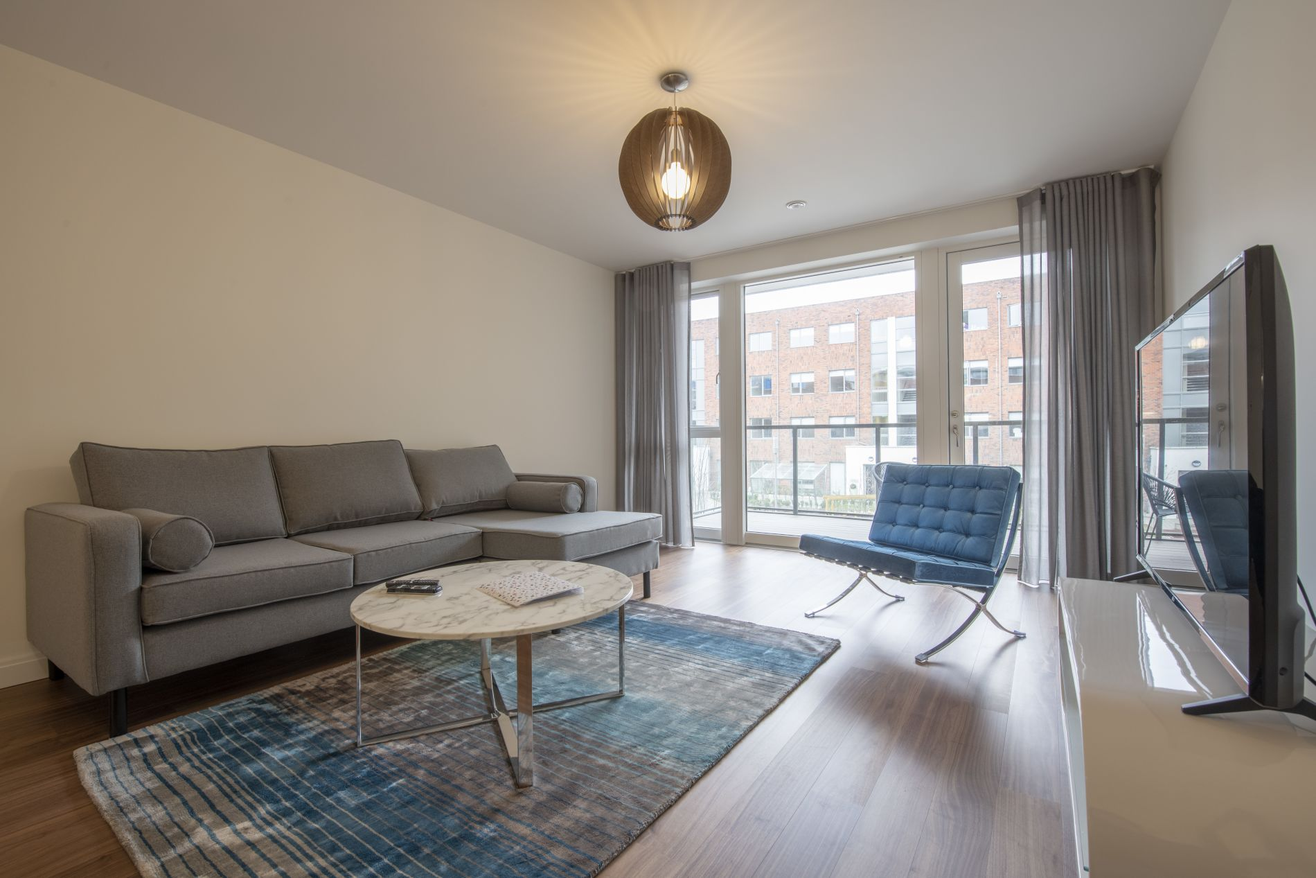 Affordable luxury serviced accommodation in dublin with a private balcony