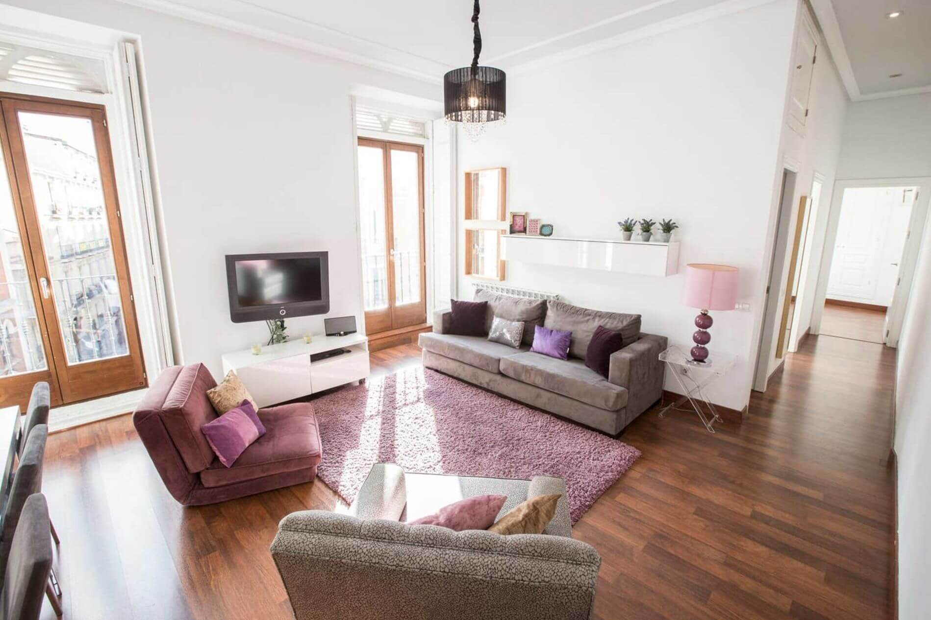 Elegant serviced apartment in Opera area Madrid that allows pets