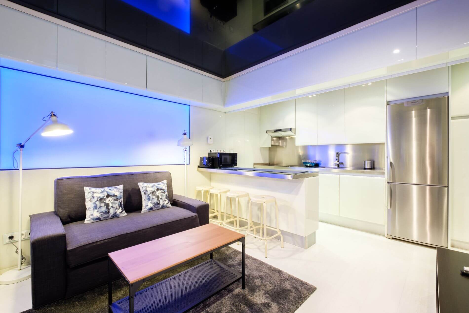 Duplex Serviced Apartment in Madrid that allows pets