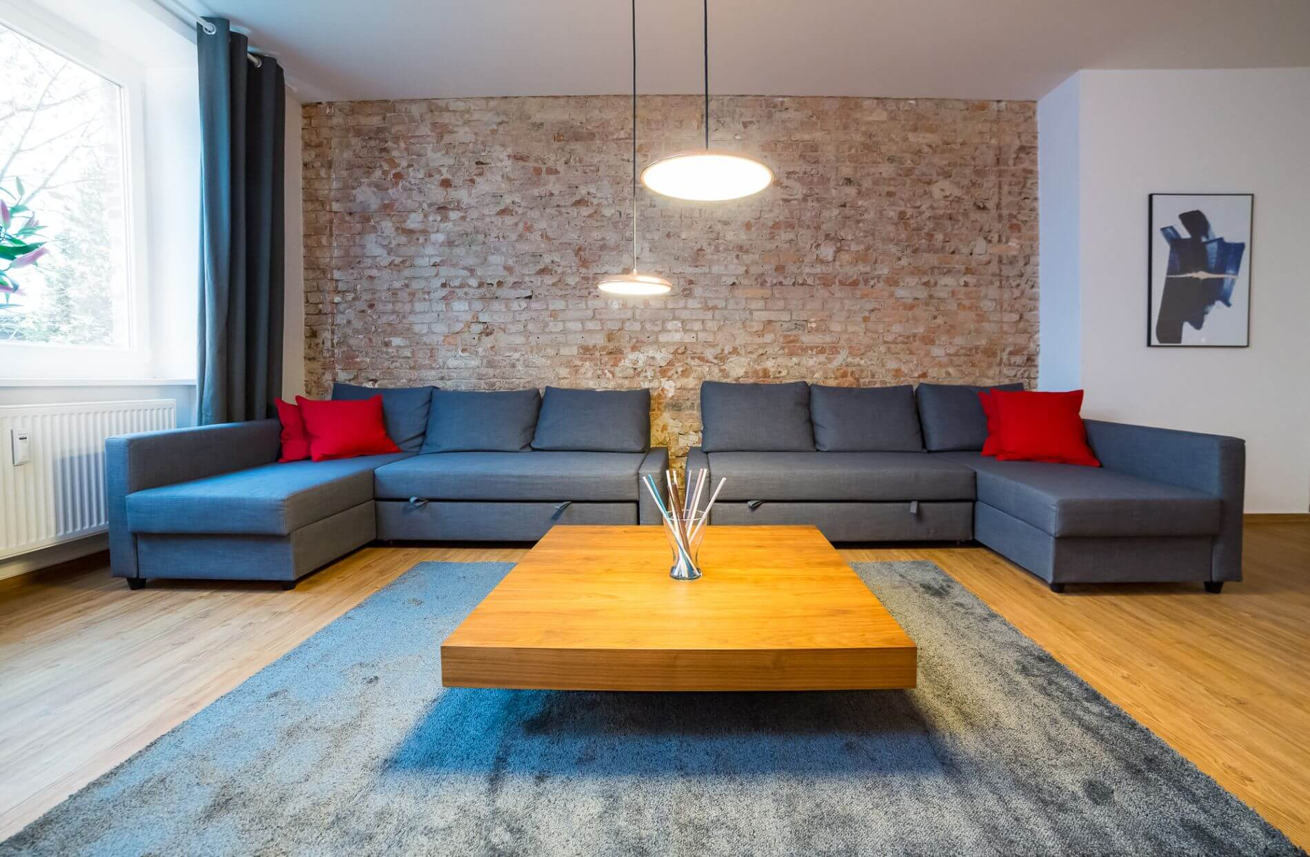 Serviced loft apartment with balcony in Berlin