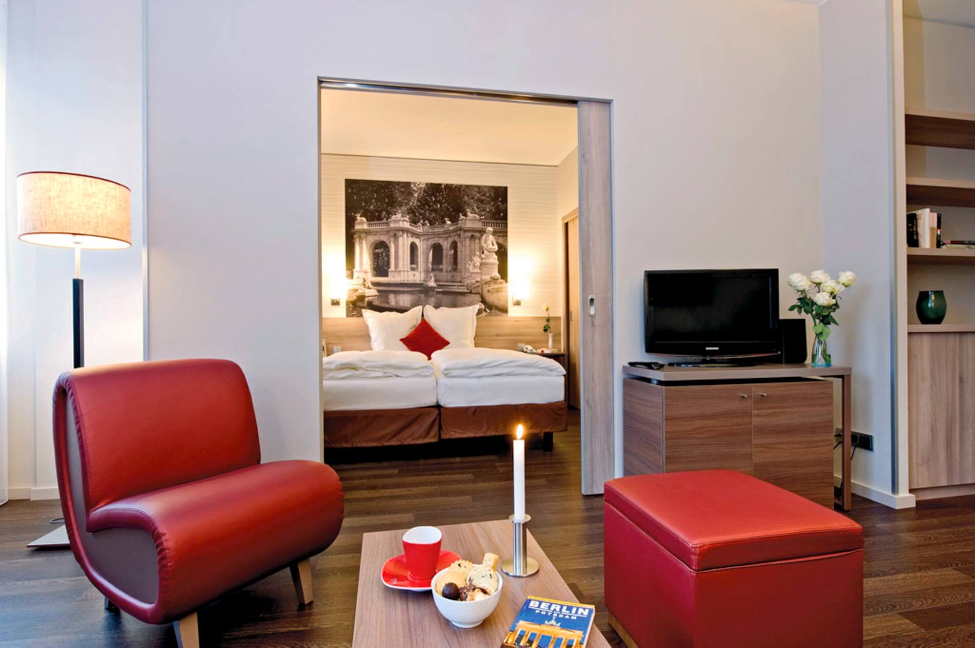Serviced apartment in Berlin with gym 1