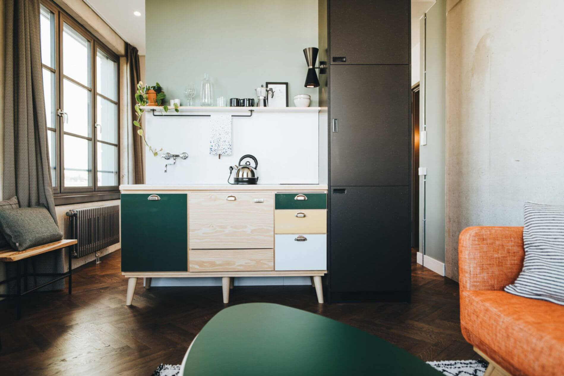 Fully equipped serviced apartment in central location in Berlin