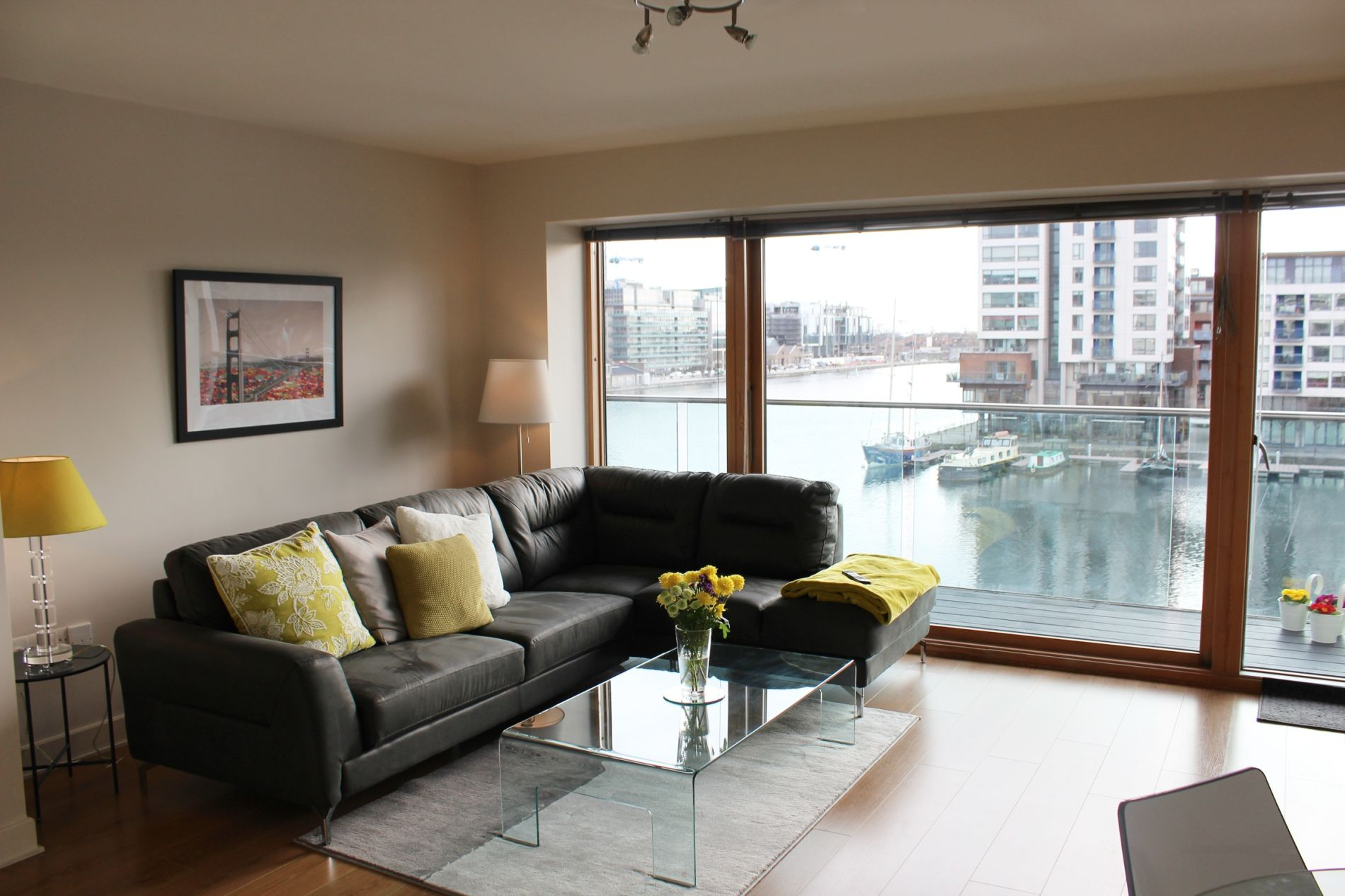 Waterfront serviced accommodation in Dublin