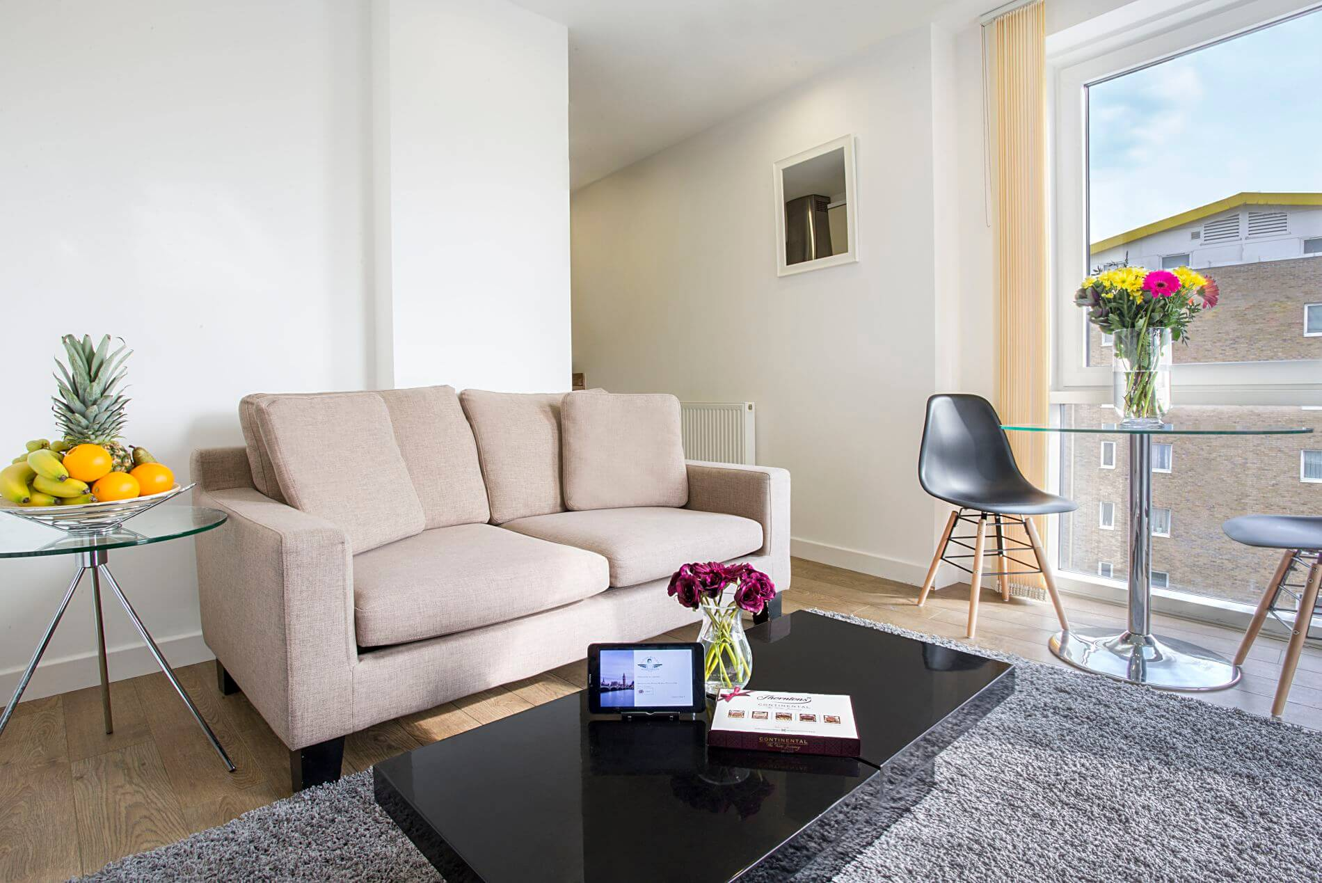 Modern 1 bedroom serviced accommodation in London