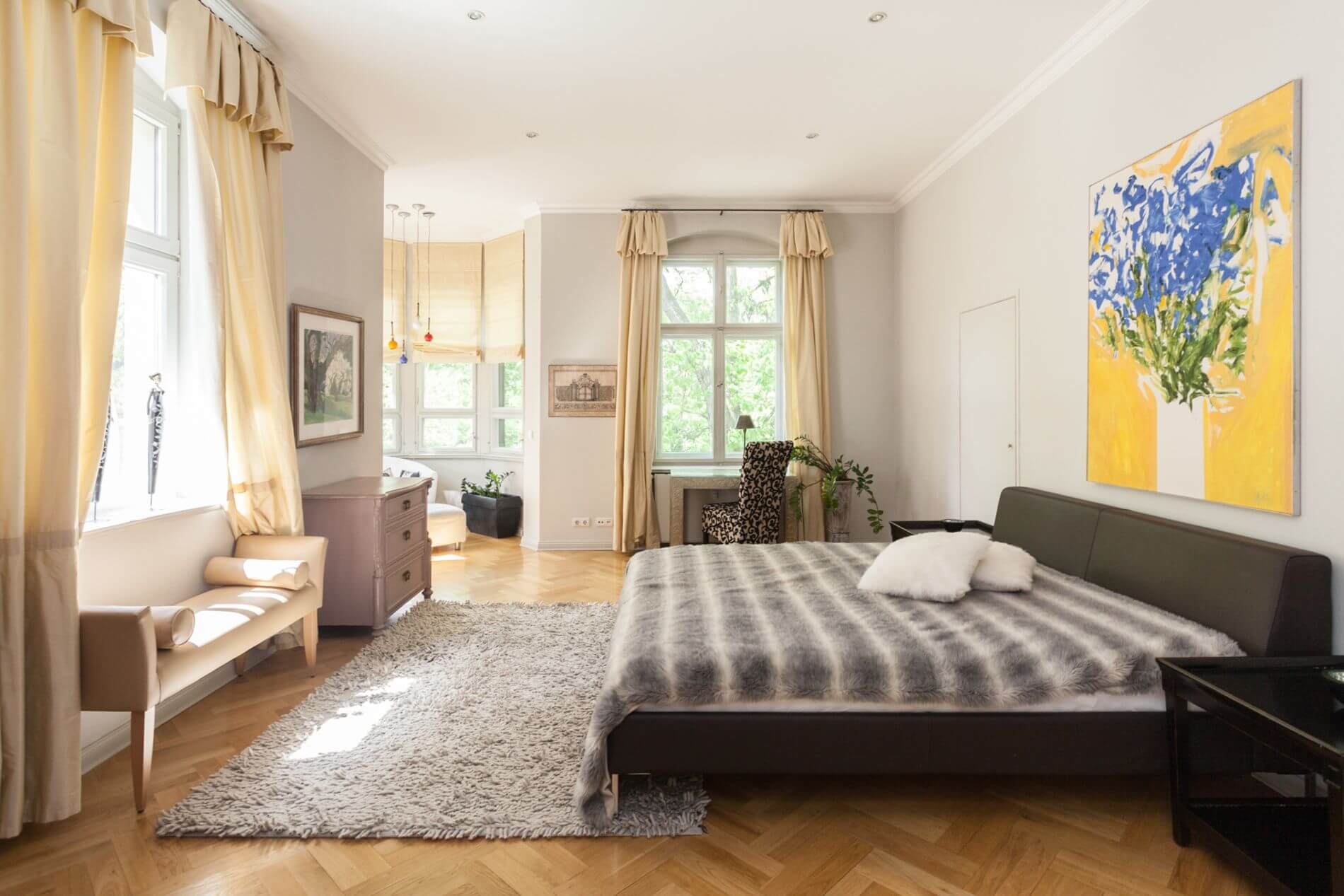 Lovely serviced apartment in Berlin in a green area ideal for short stays