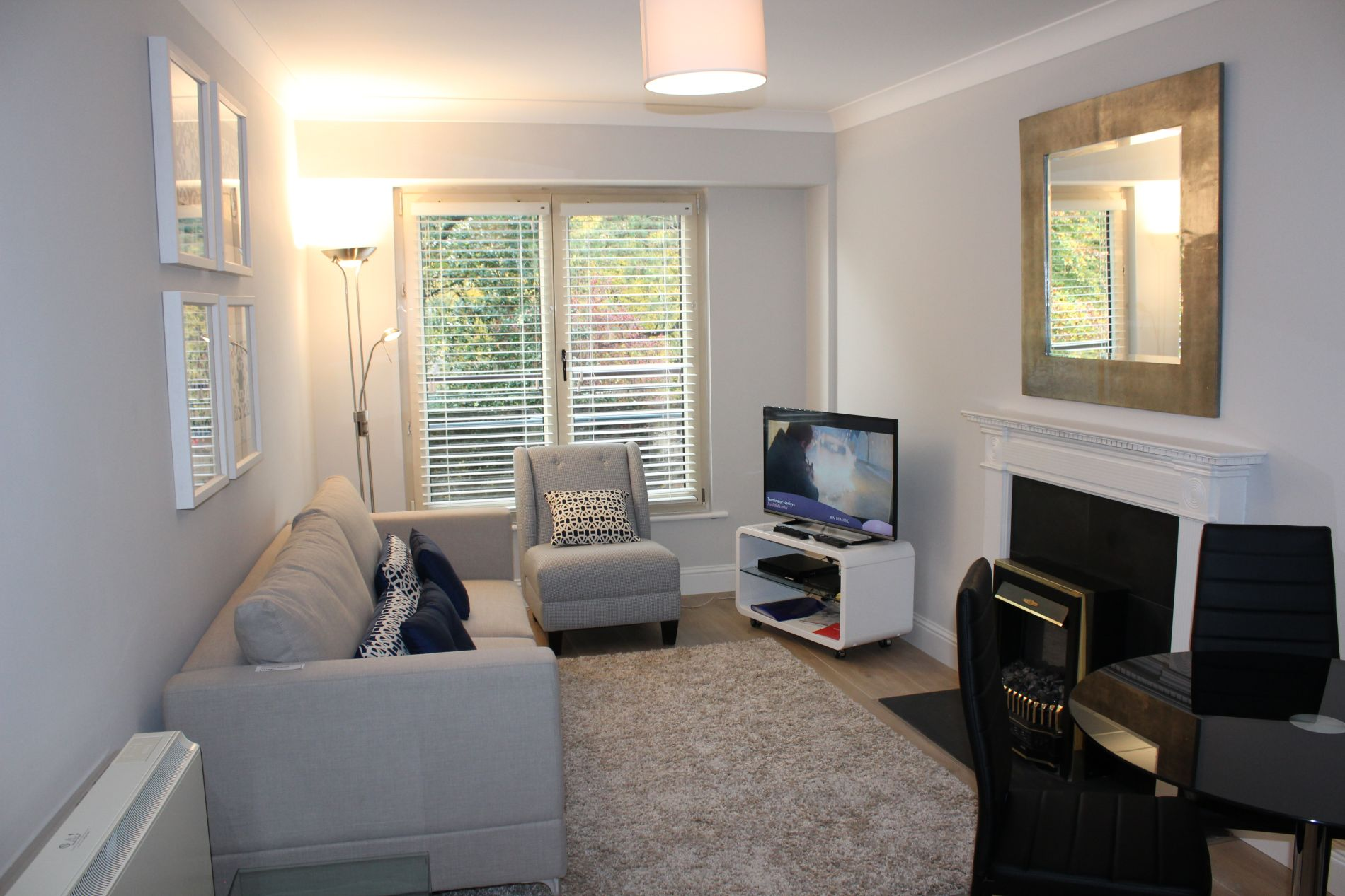 Tastefully decorated serviced apartment in Dublin