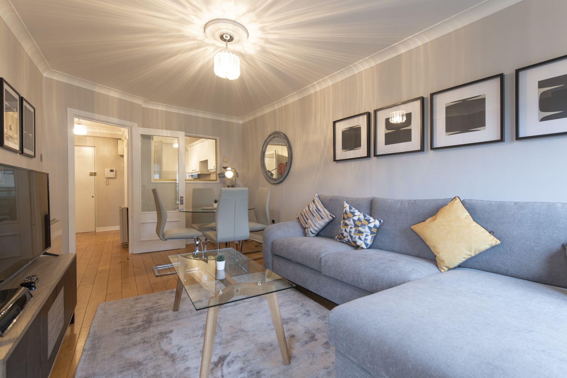 1 Bedroom serviced apartment in Ballsbridge district of Dublin