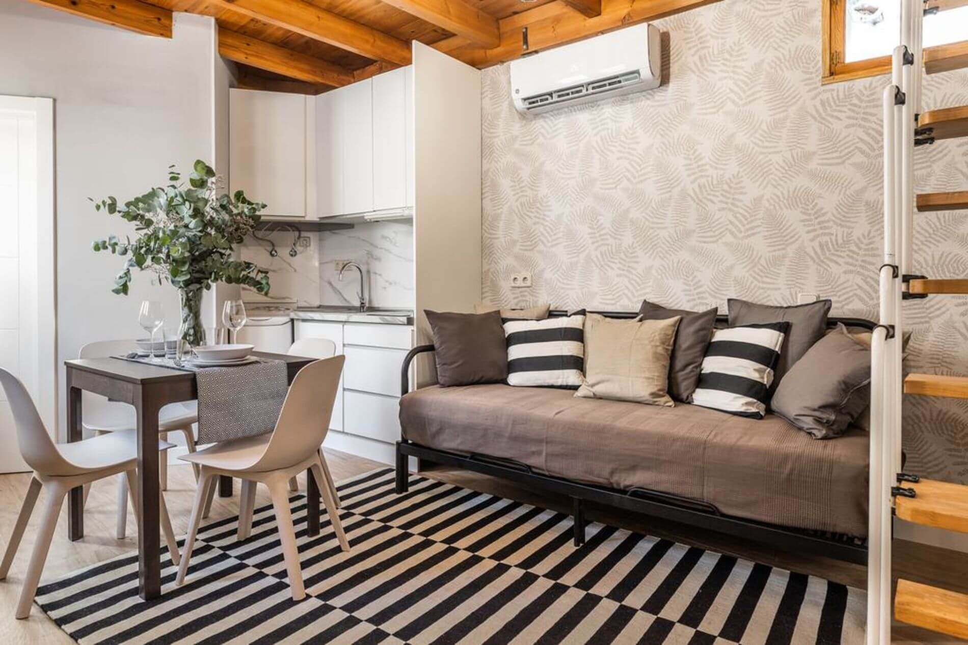 Short term serviced apartment in Madrid 3