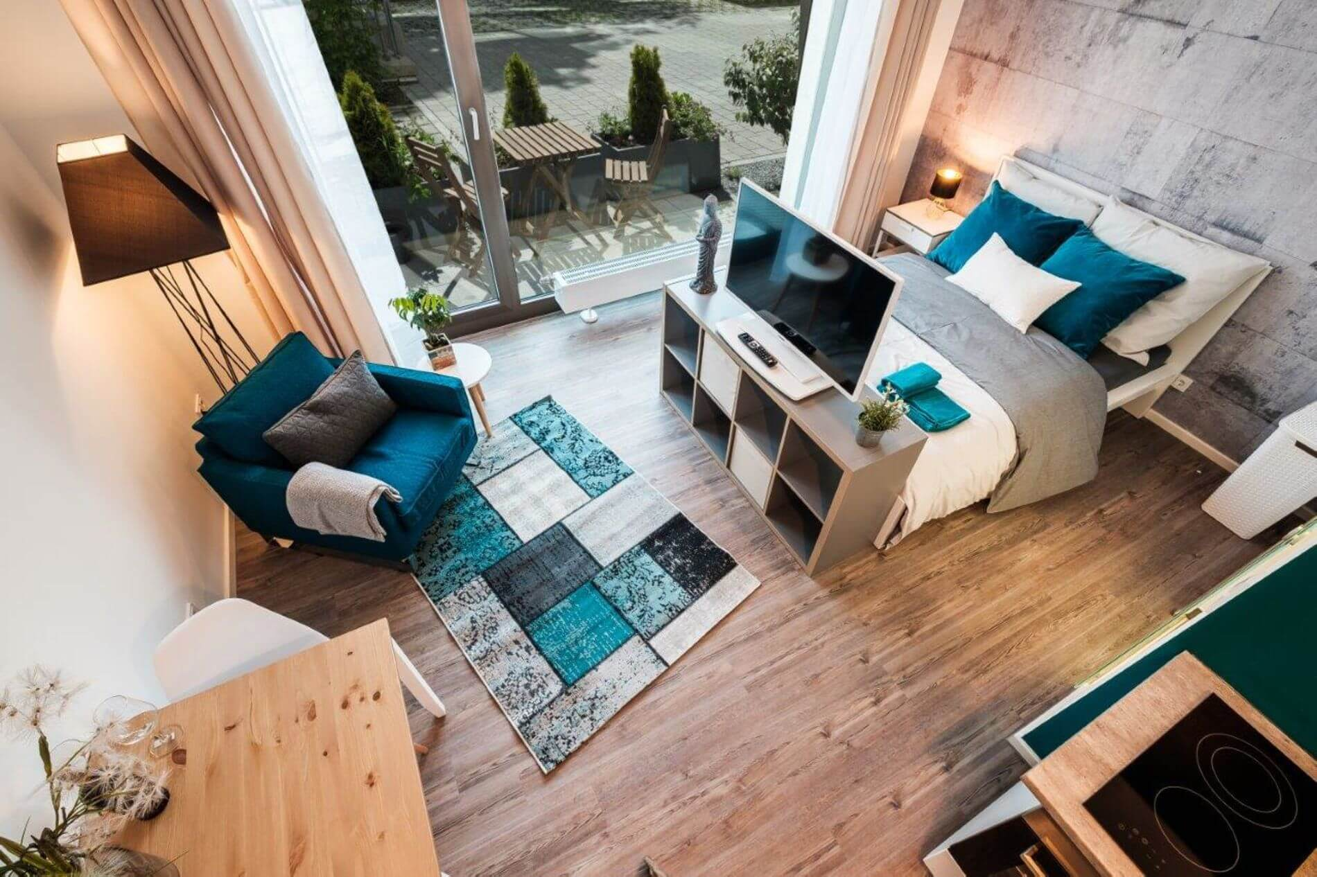 Modern loft with 1 bedroom in a residential area in Munich