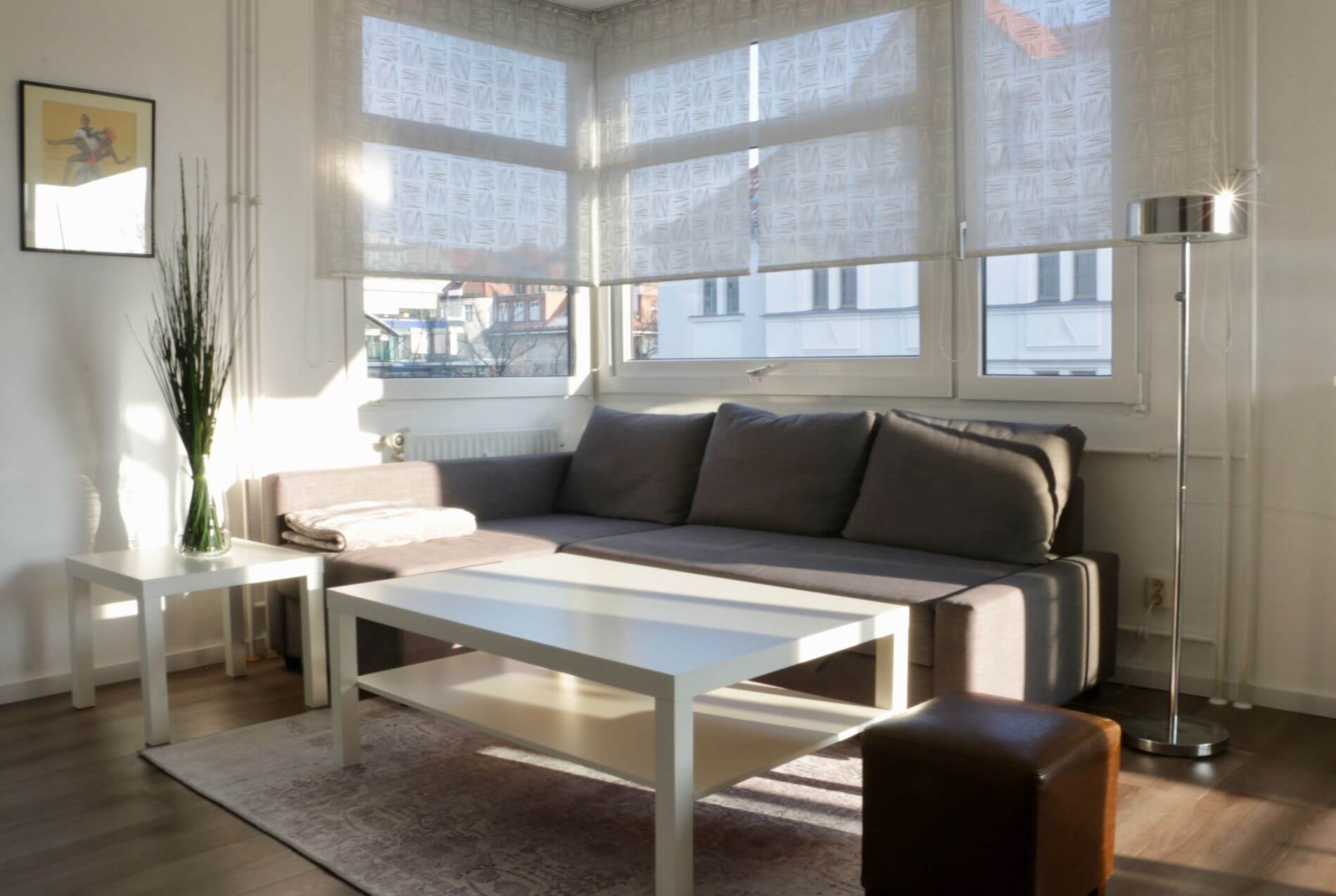 Fully equipped apartment in Berlin with a balcony