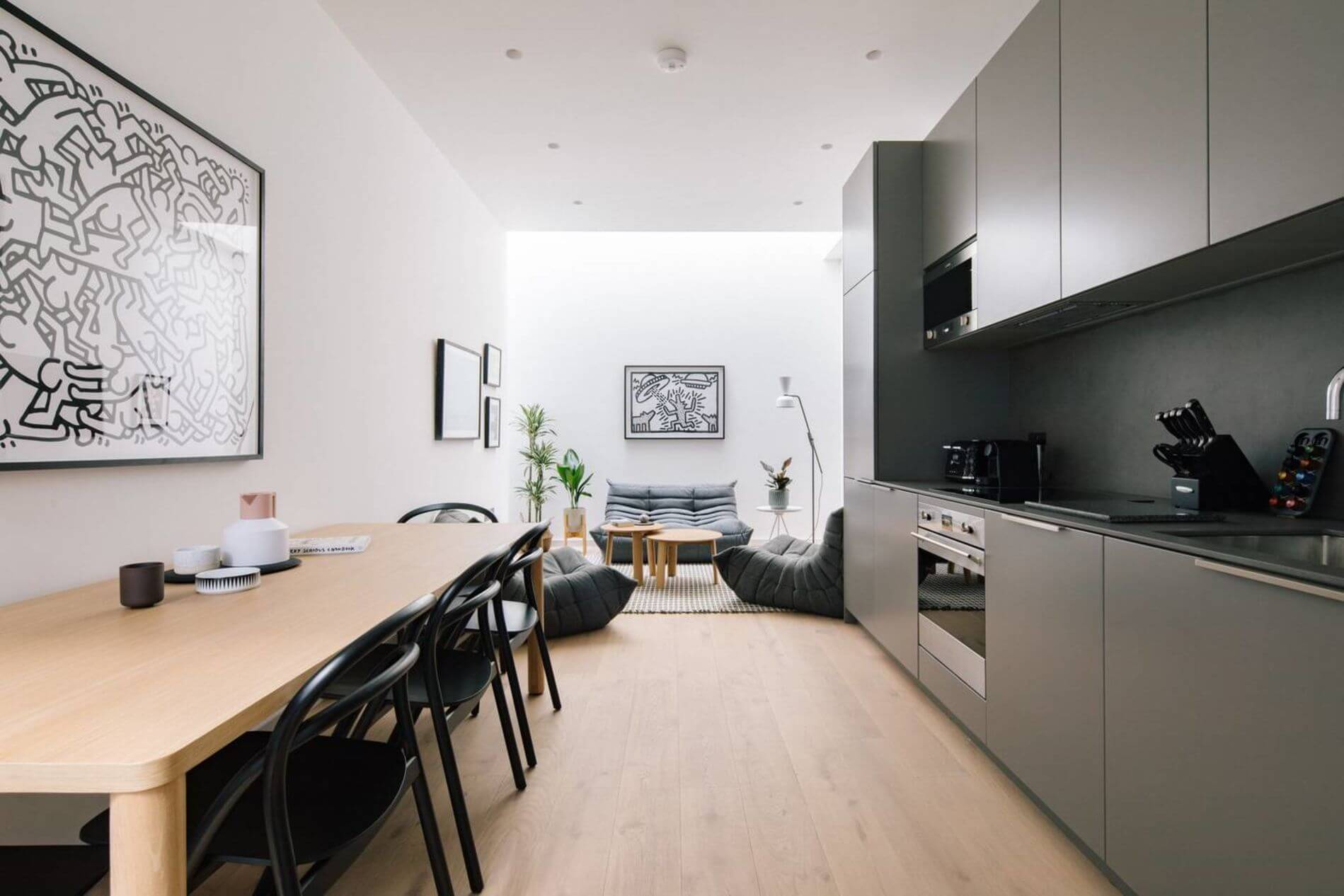 Family-friendly furnished apartment in Fitzrovia
