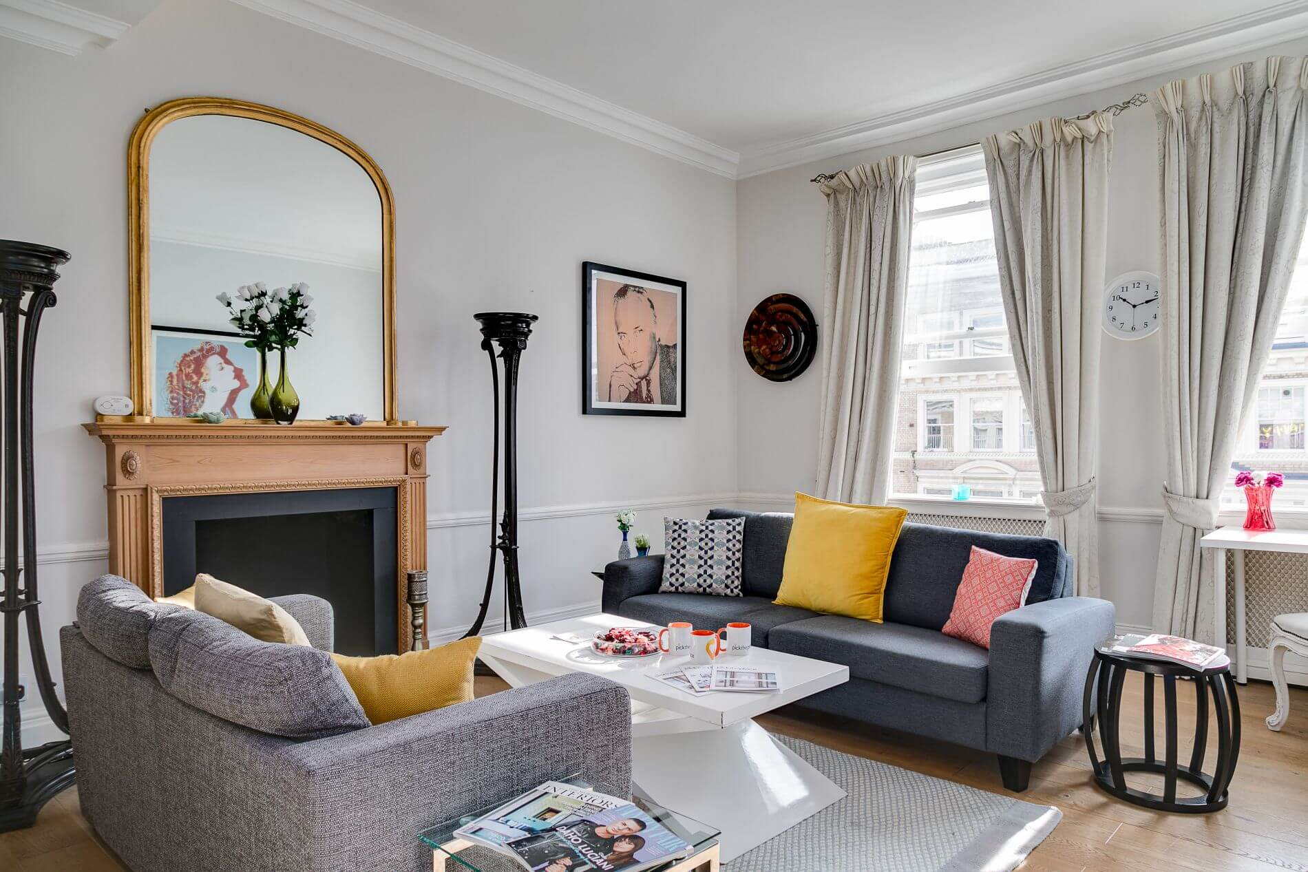 Fully quipped flat ideal for families in Hyde Park, London