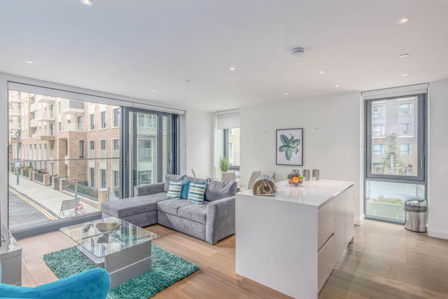 Furnished luxury flat in Wembley