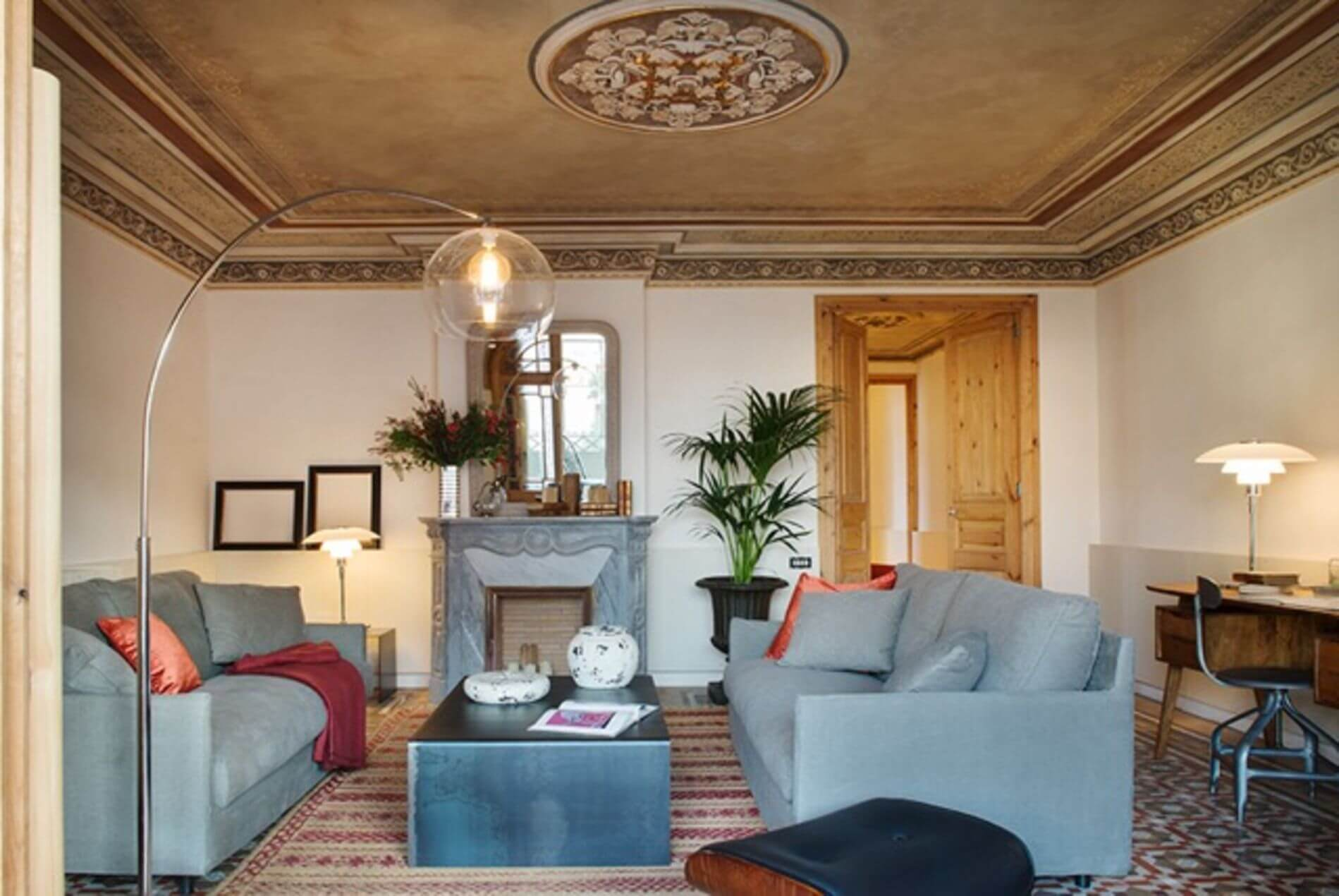 Furnished luxury apartment with 3 bedrooms ideal for families