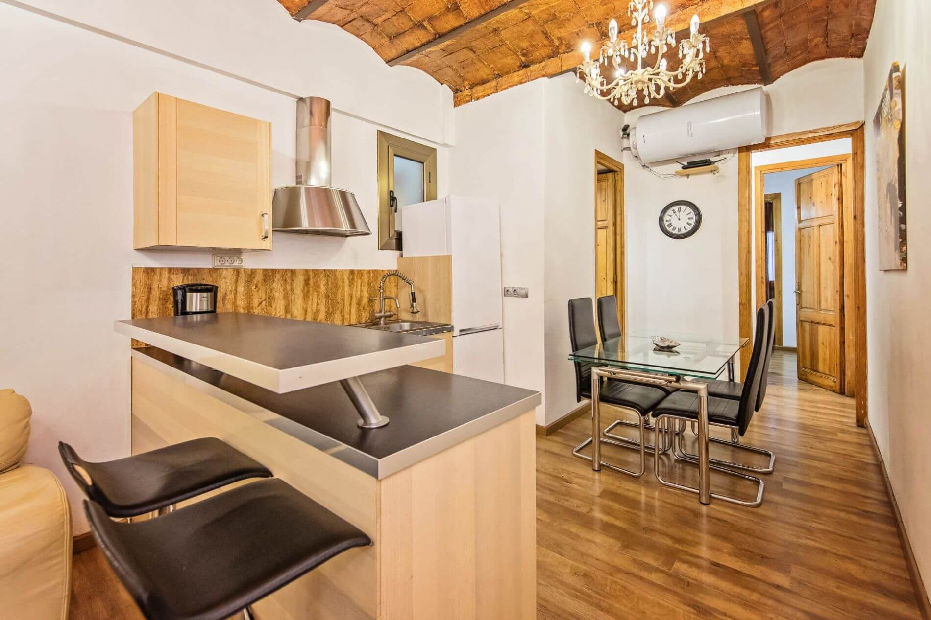 Fully equipped property in Barcelona for families