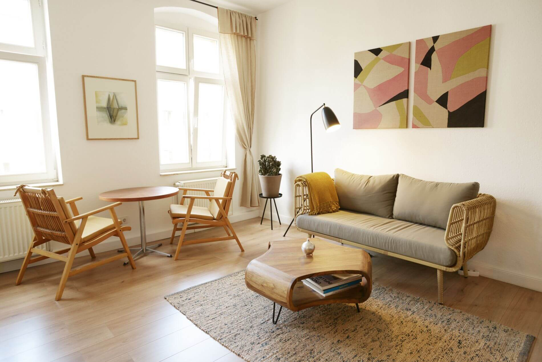 Furnished apartment in Mitte for long stays