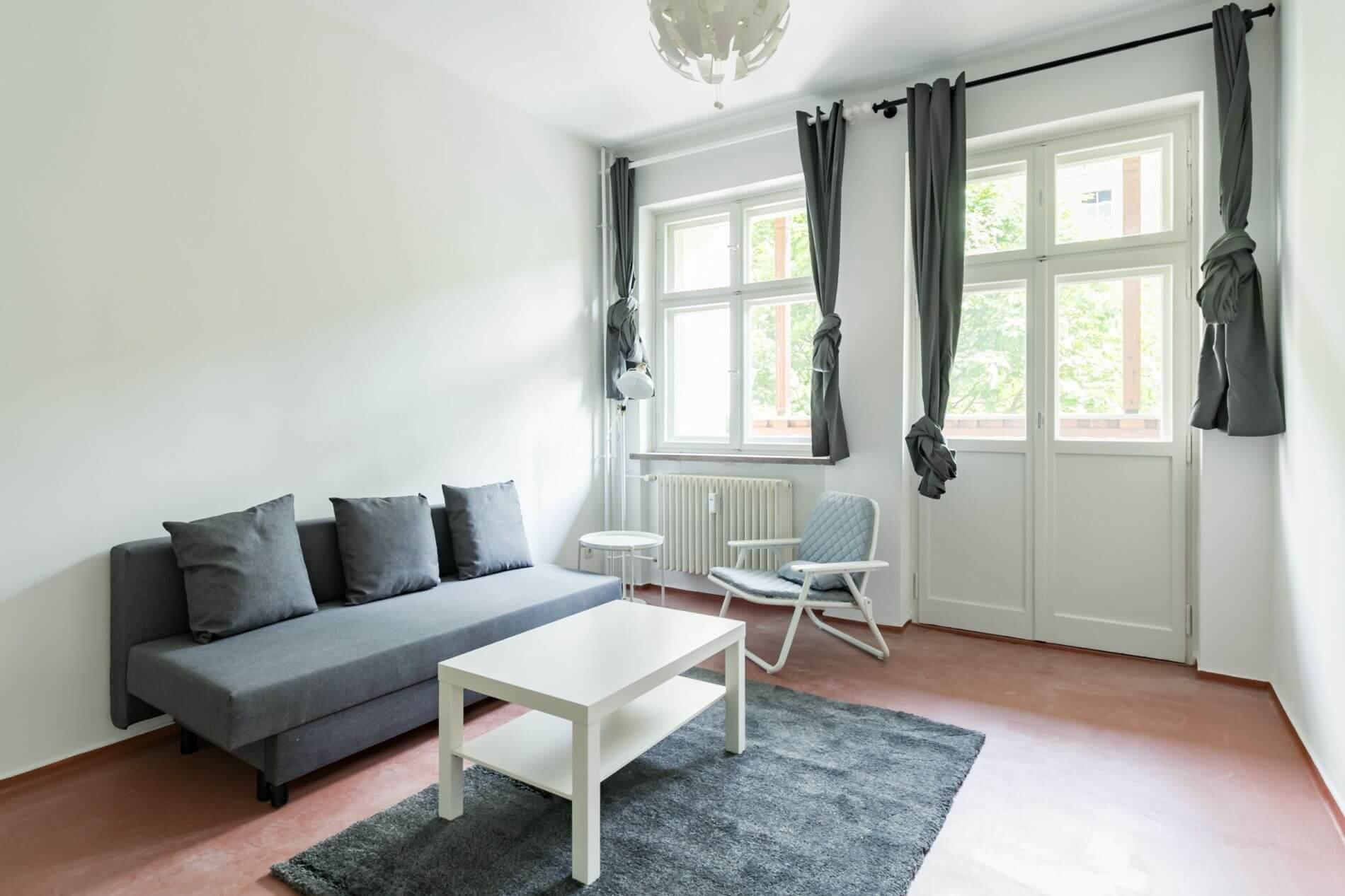 Furnished long stay property in Friedrichshain , Berlin