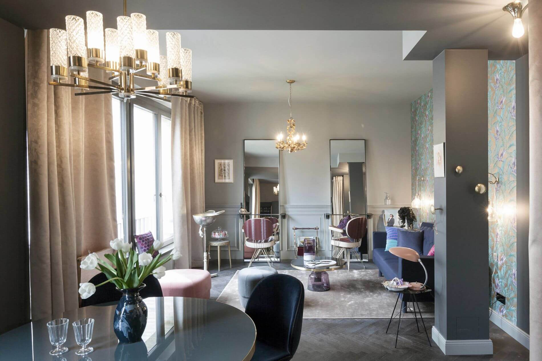Pretty luxury furnished apartment for rent in Berlin Mitte