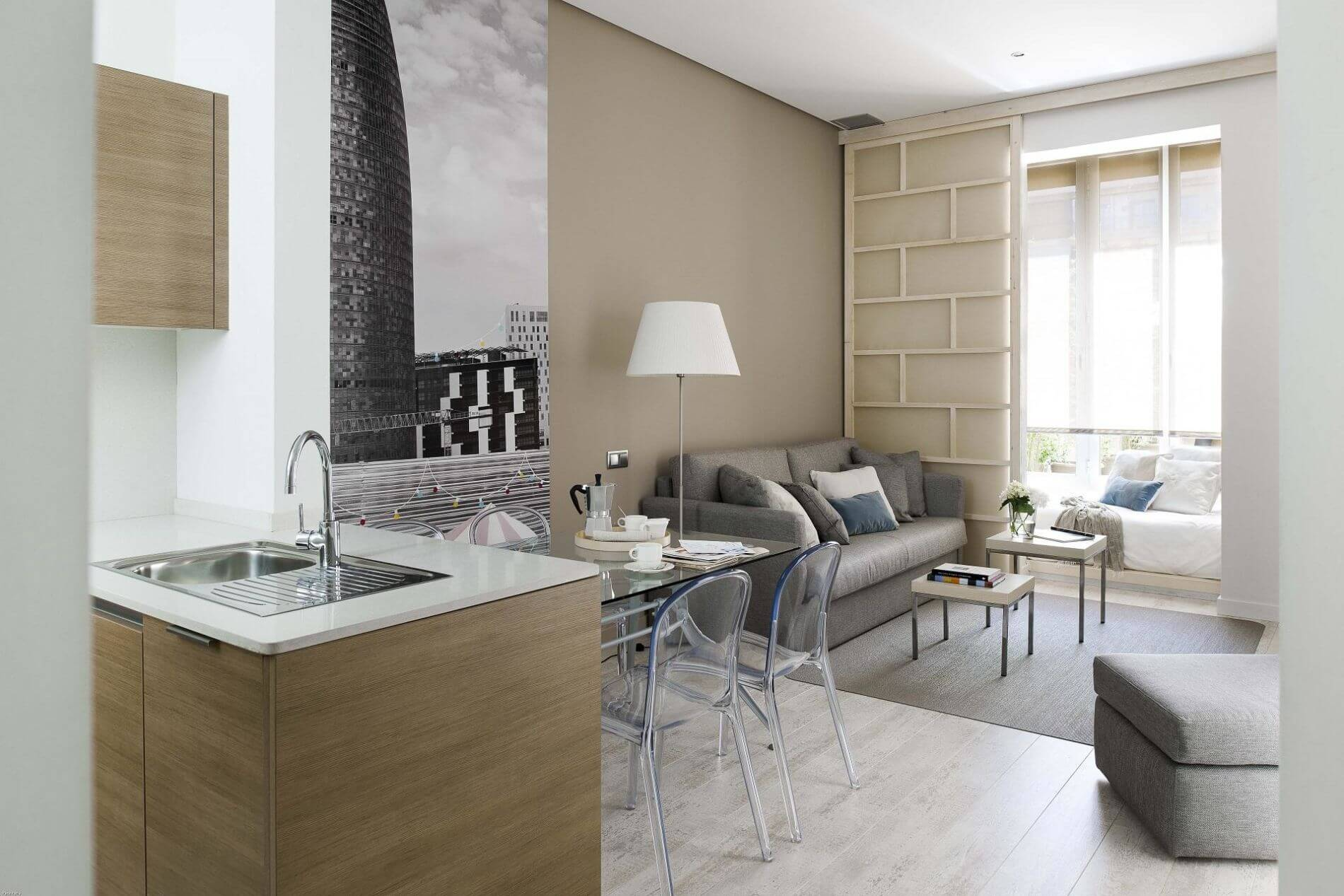 Fully equipped apartment in Barcelona that allows pets