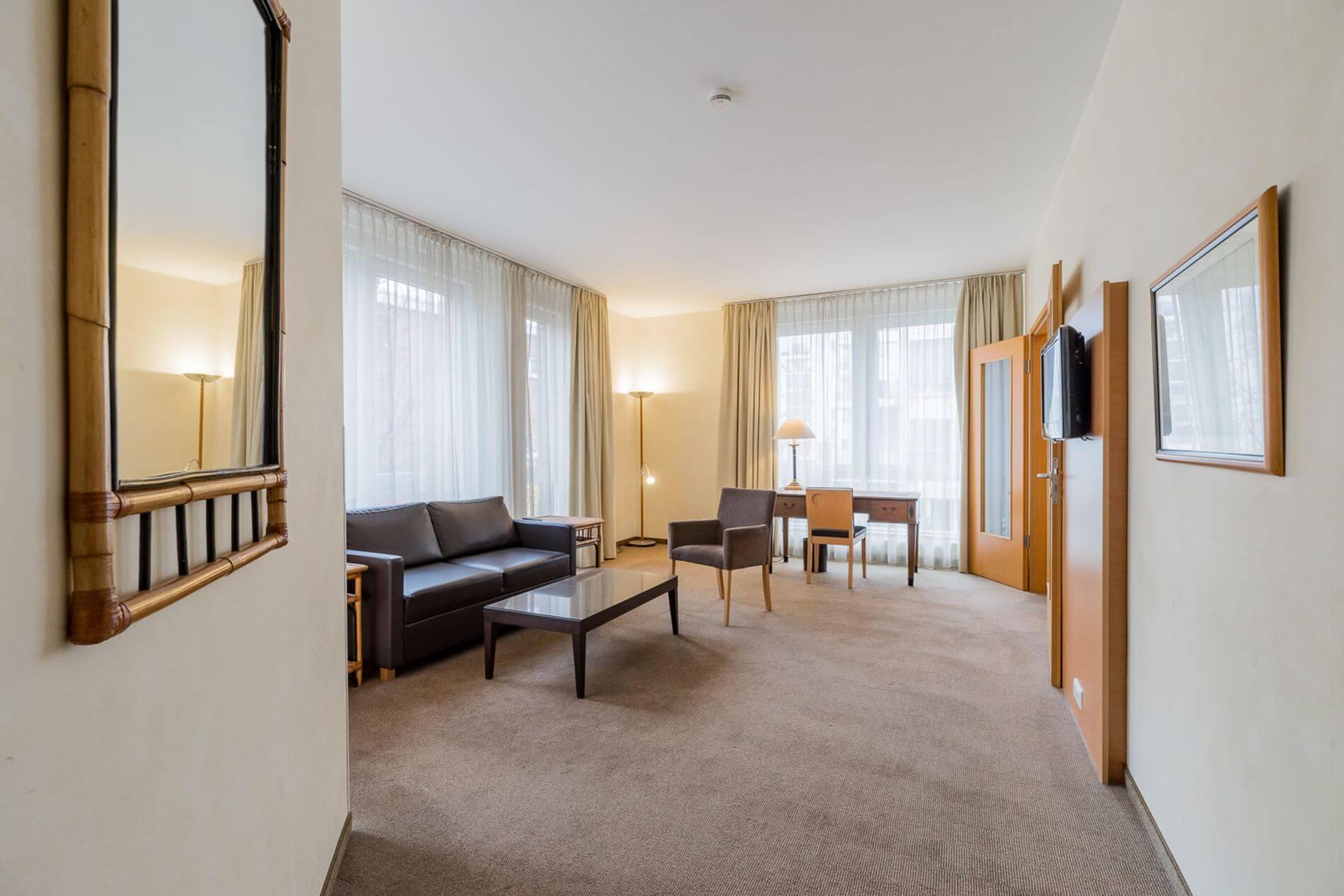 Furnished 2 room rental for short stays in Berlin