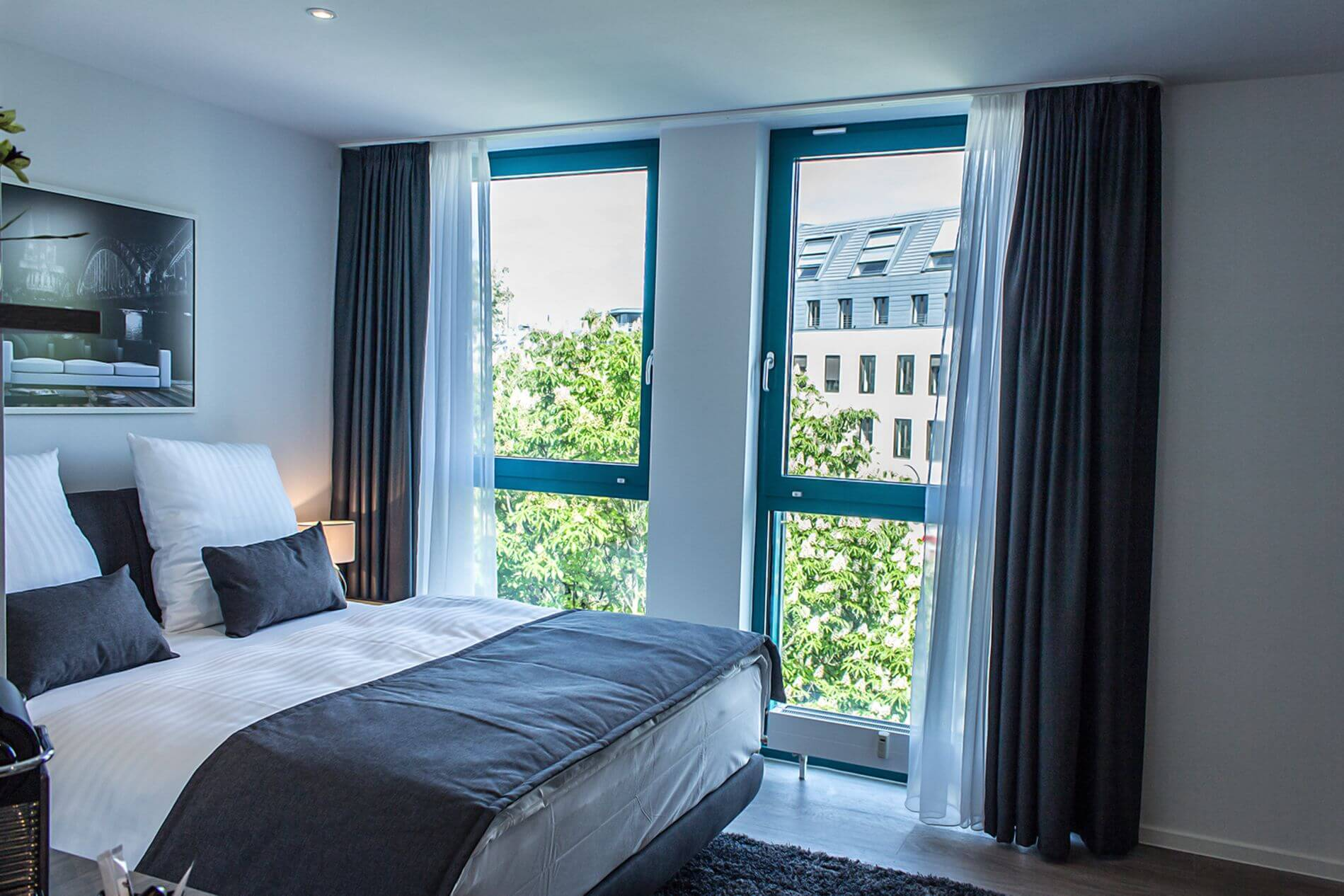 Studio apartment rental in Cologne with everything you need